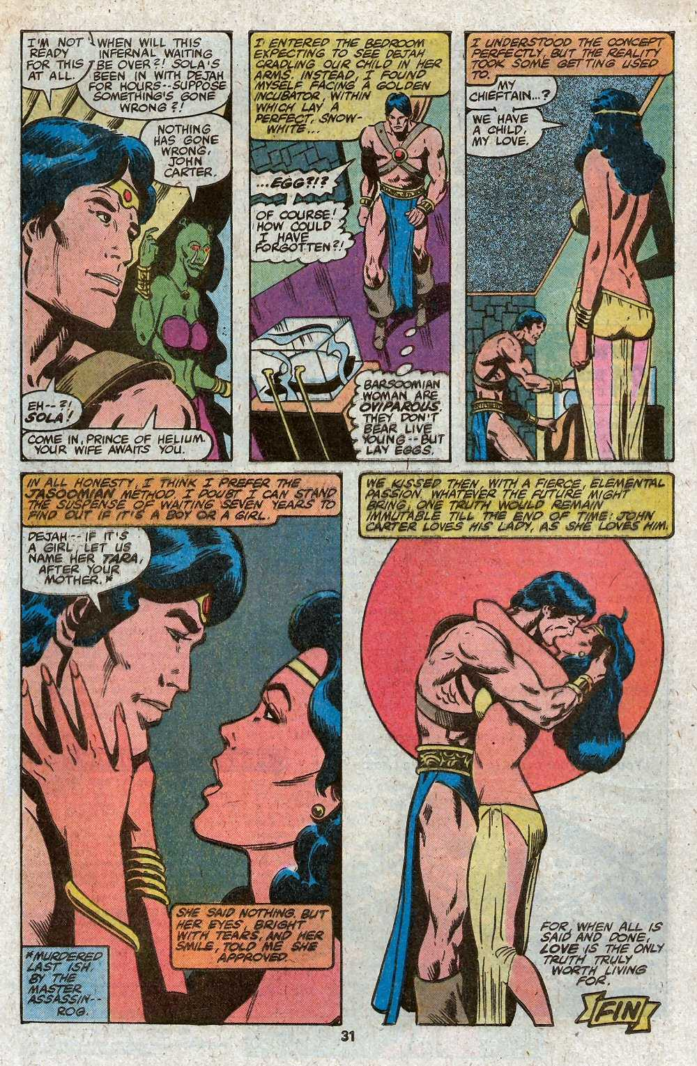 John Carter Warlord of Mars issue 27 - Page 33
