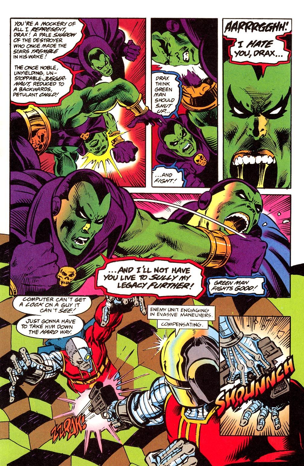 Read online Secret Defenders comic -  Issue #23 - 16