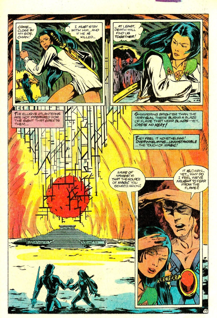Read online Arion, Lord of Atlantis comic -  Issue #15 - 18
