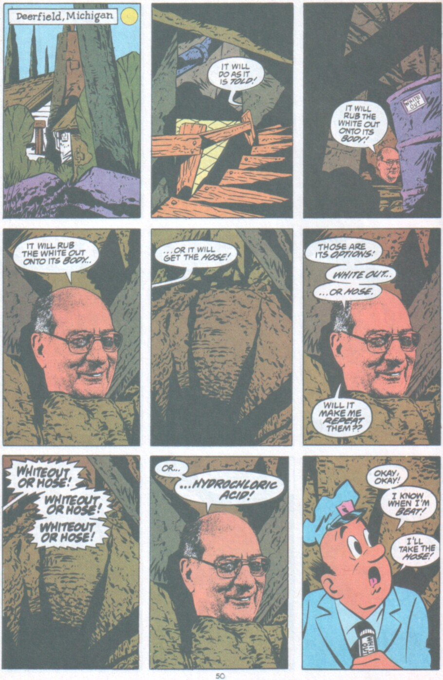 Read online Ambush Bug Nothing Special comic -  Issue # Full - 43