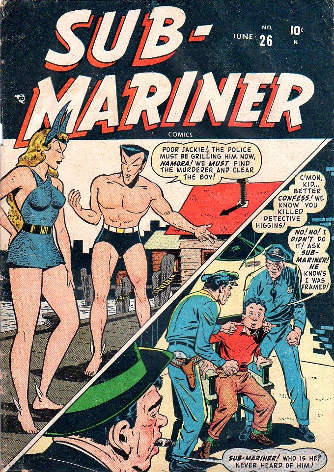 Sub-Mariner Comics 26 Page 1