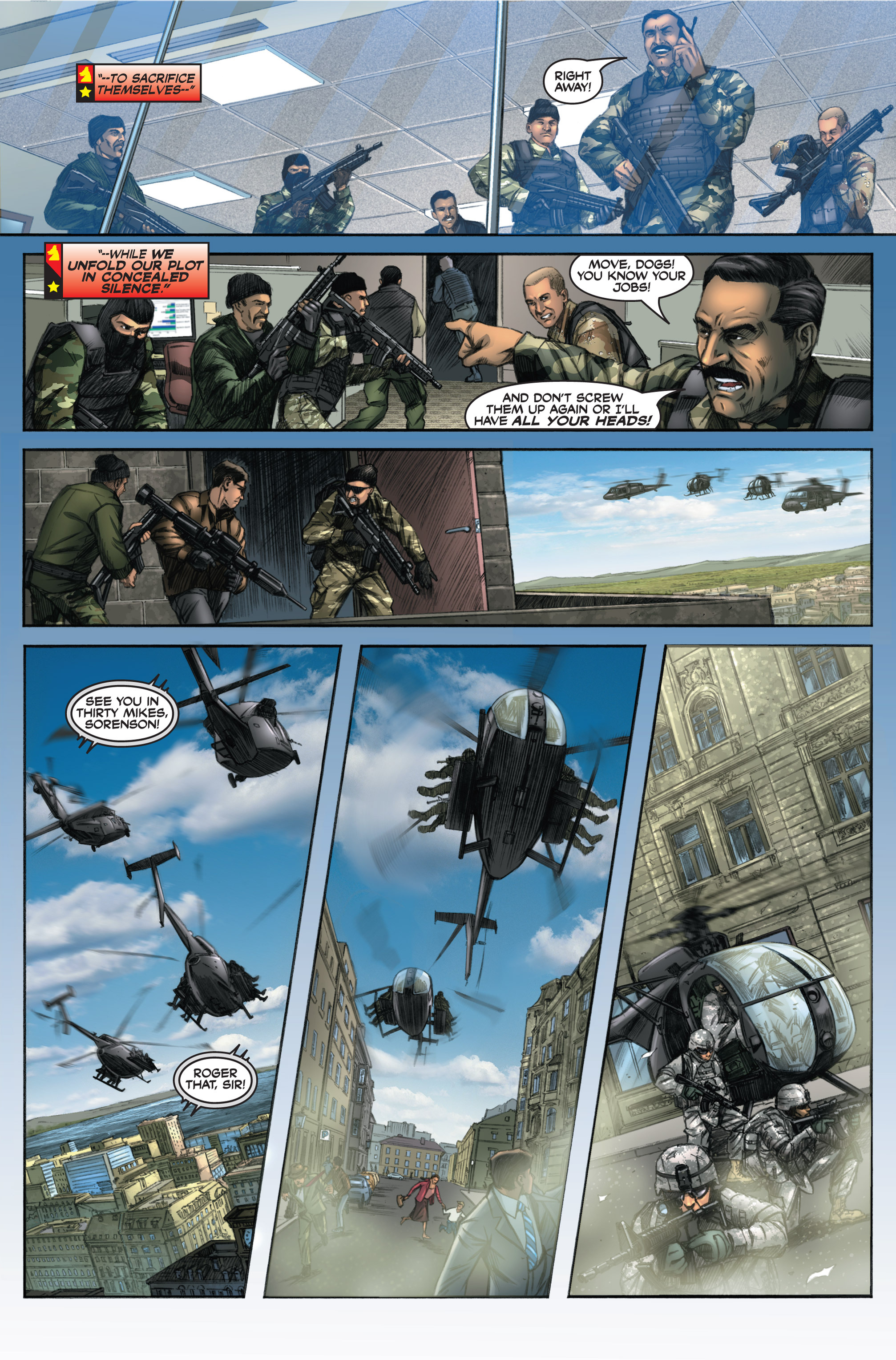 Read online America's Army comic -  Issue #6 - 12