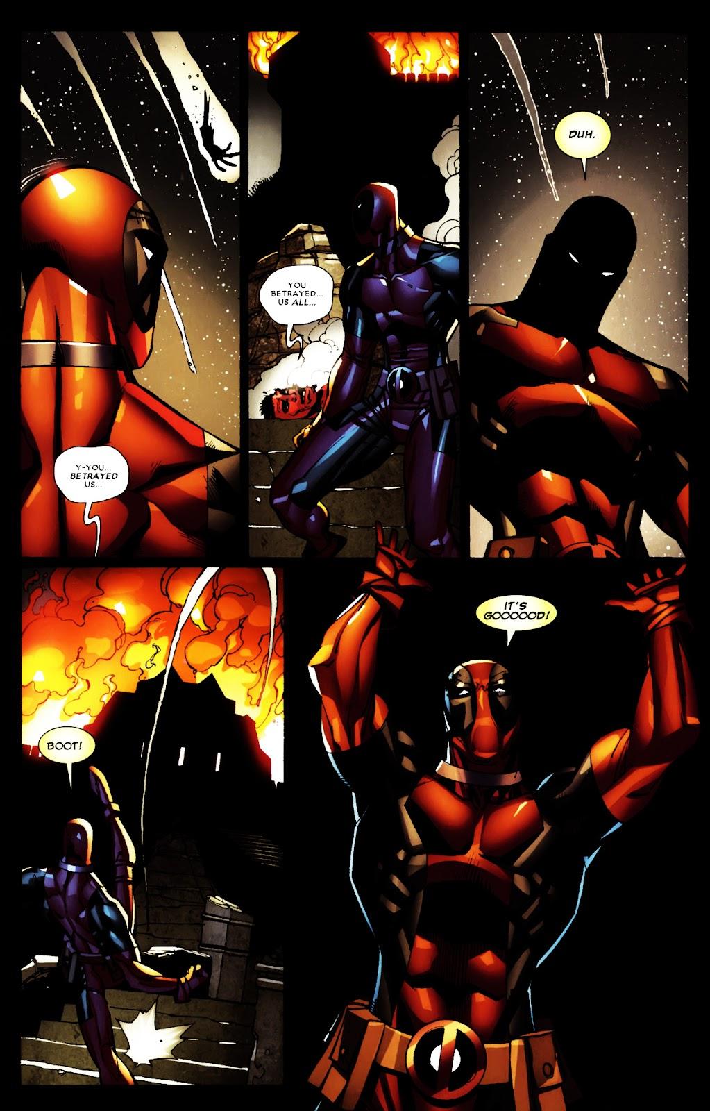 Read online Deadpool (2008) comic -  Issue #5 - 21
