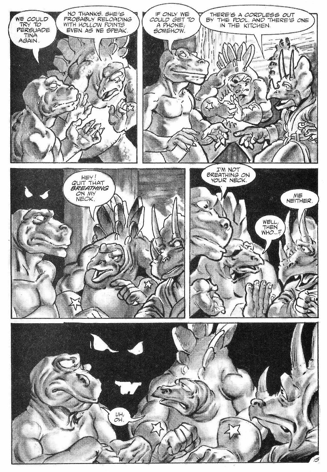 Dinosaurs For Hire (1988) issue 6 - Page 17
