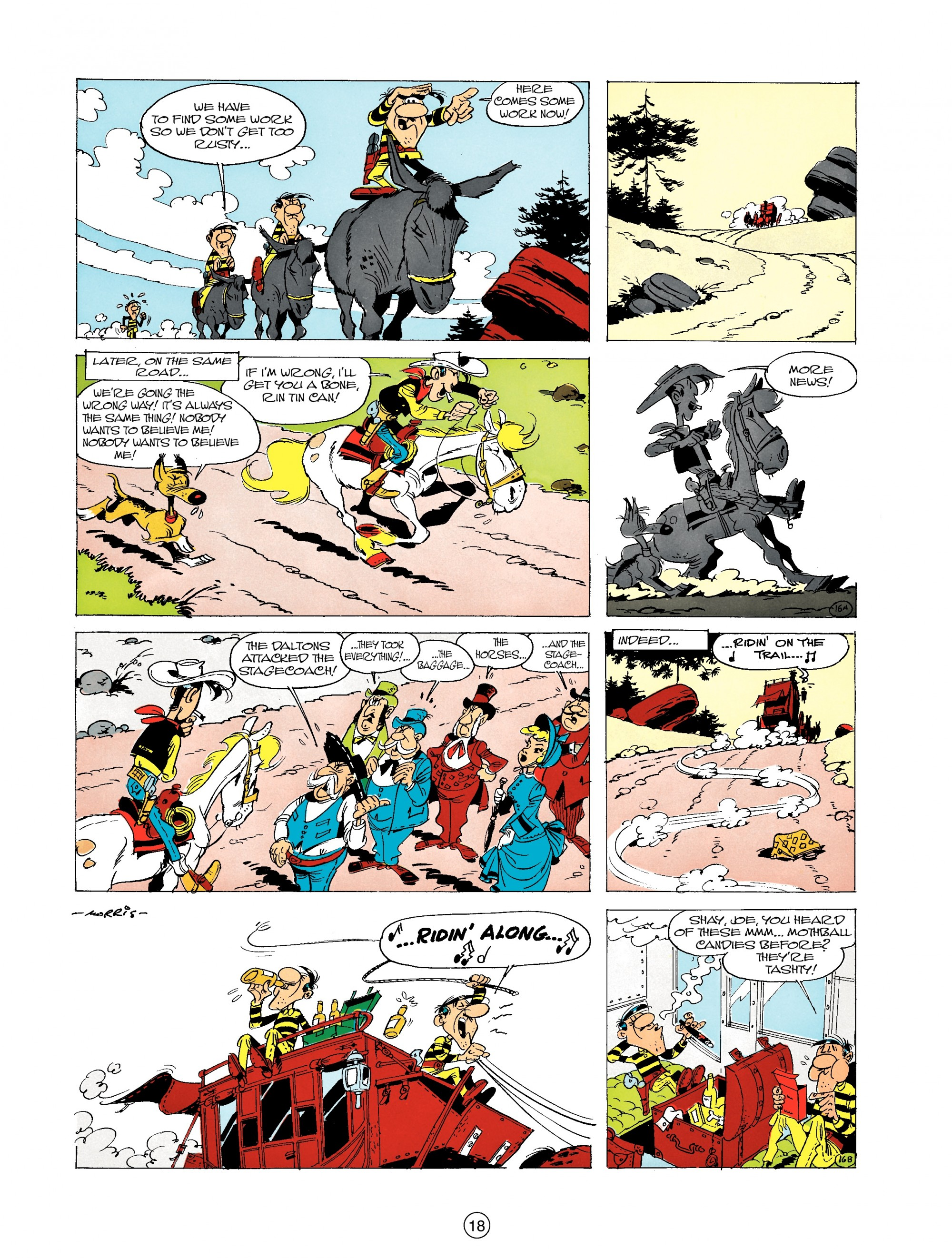 Read online A Lucky Luke Adventure comic -  Issue #19 - 18