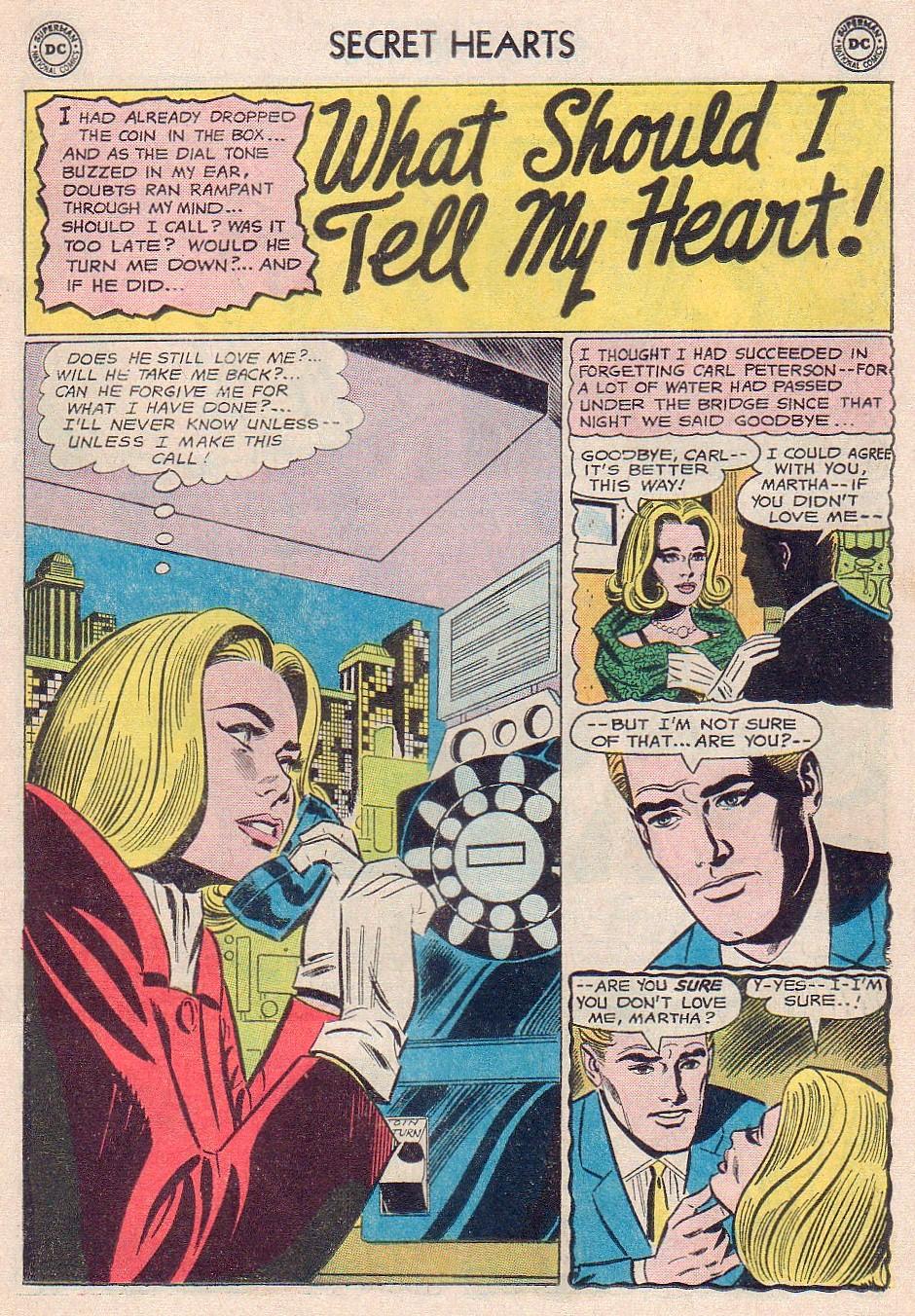 Read online Secret Hearts comic -  Issue #102 - 11