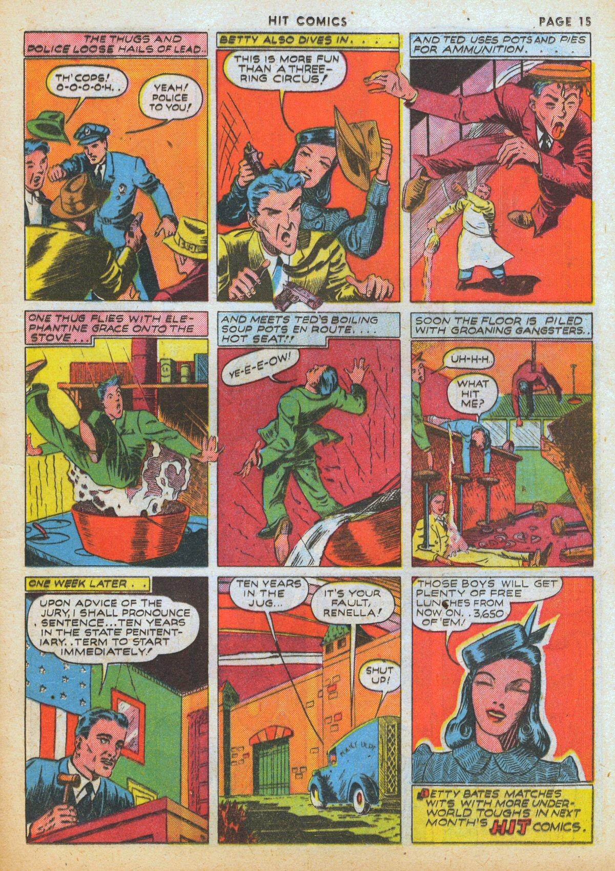 Read online Hit Comics comic -  Issue #12 - 17