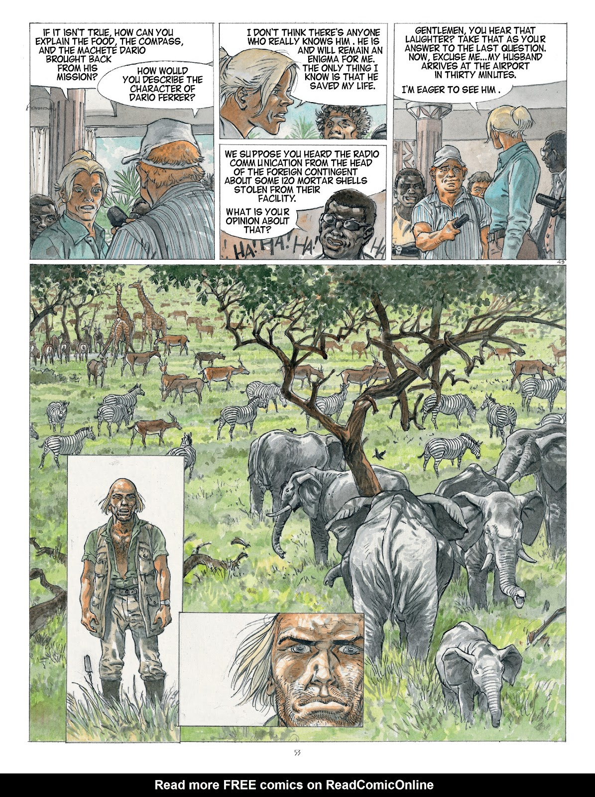 Read online Afrika comic -  Issue # TPB - 53