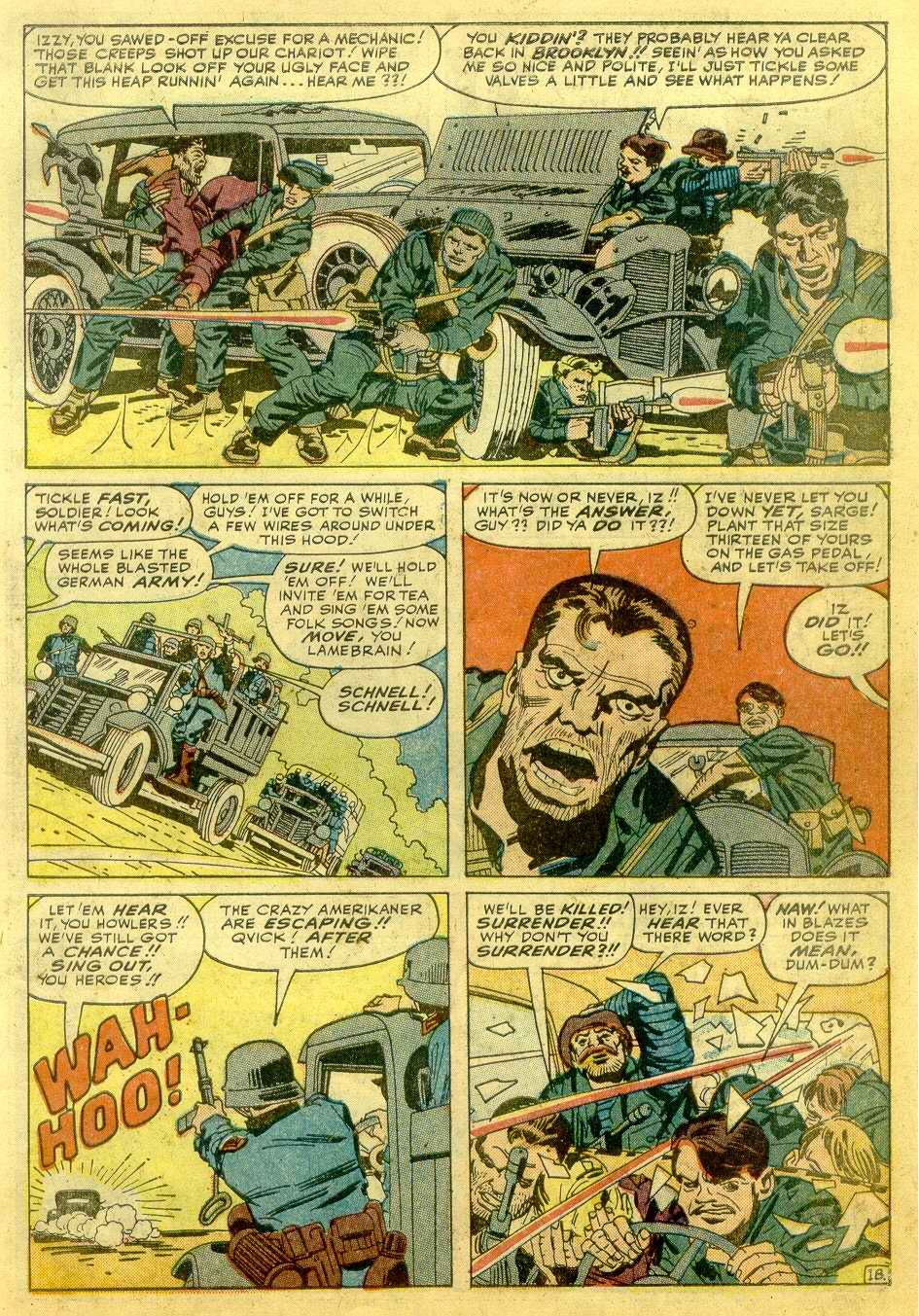 Read online Sgt. Fury comic -  Issue # _Annual 1 - 41