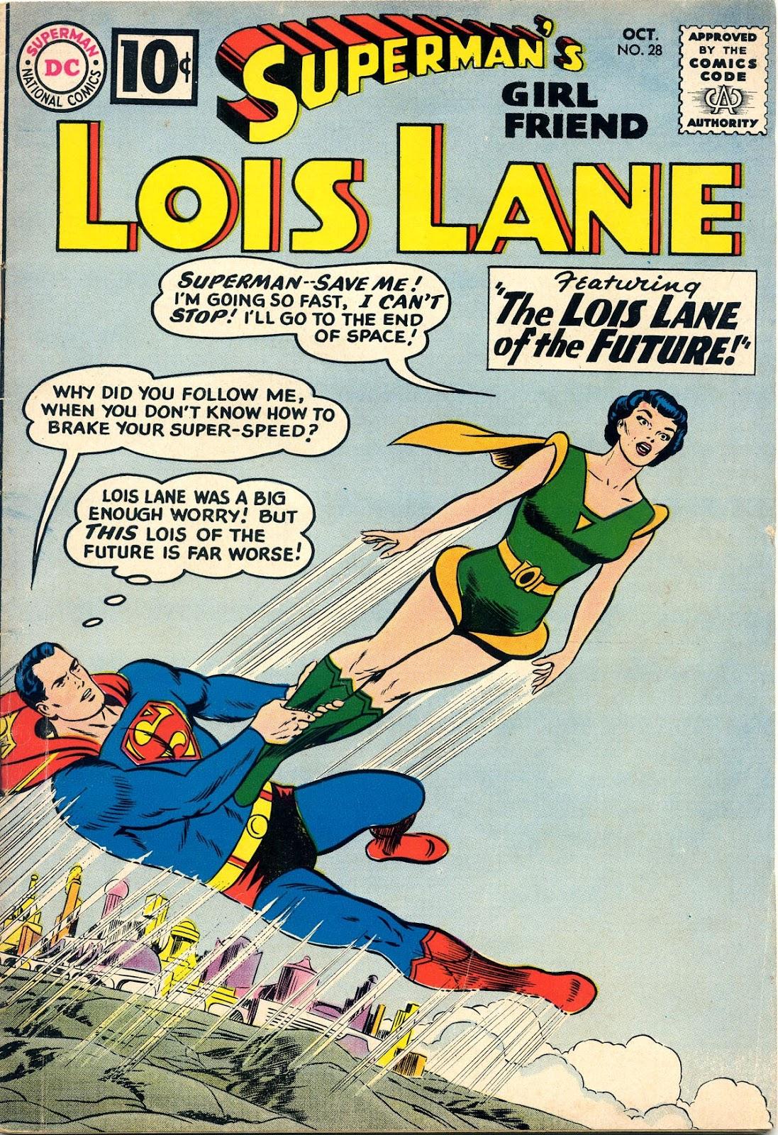 Supermans Girl Friend, Lois Lane 28 Page 1