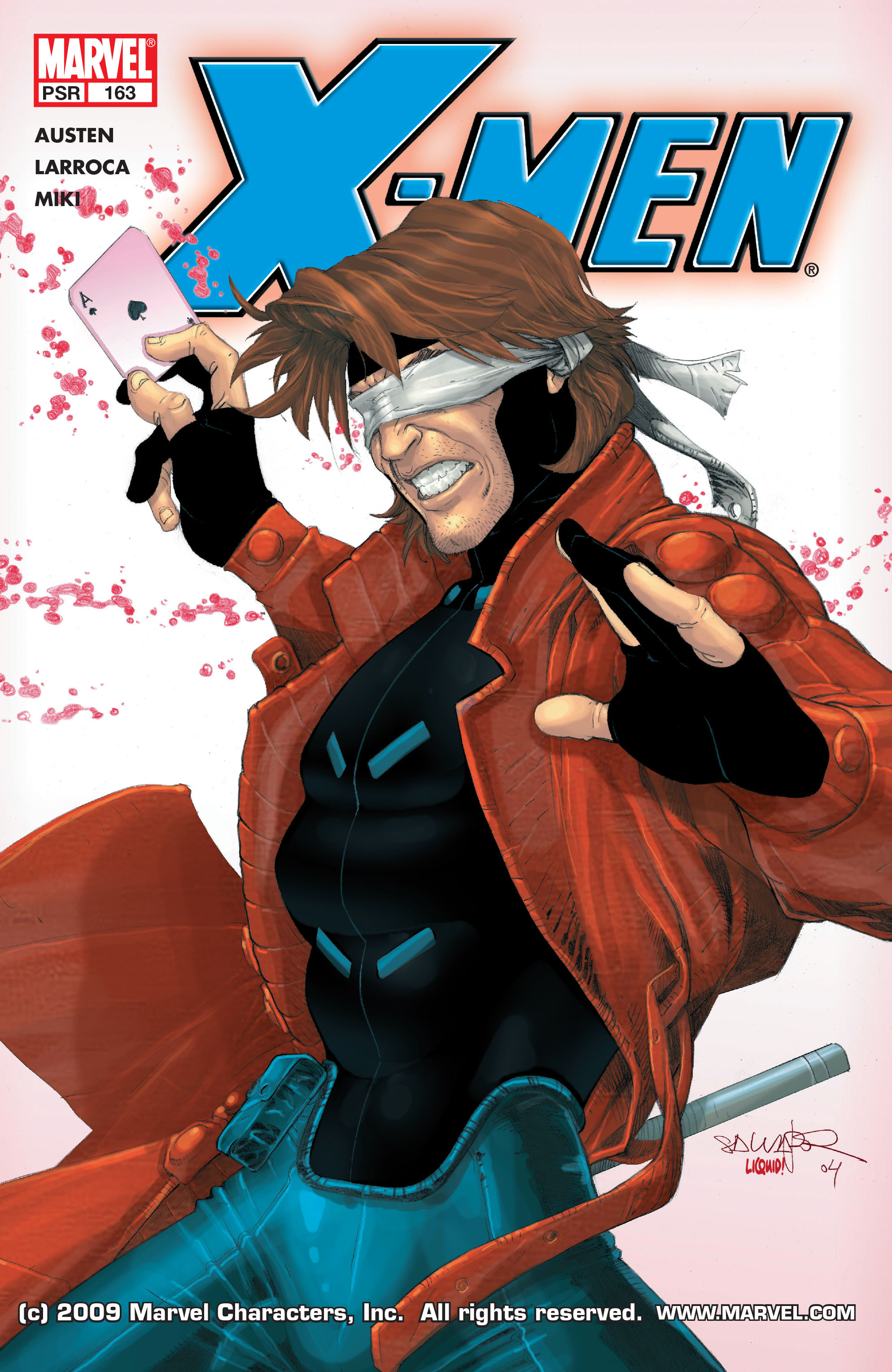 X-Men (1991) 163 Page 0