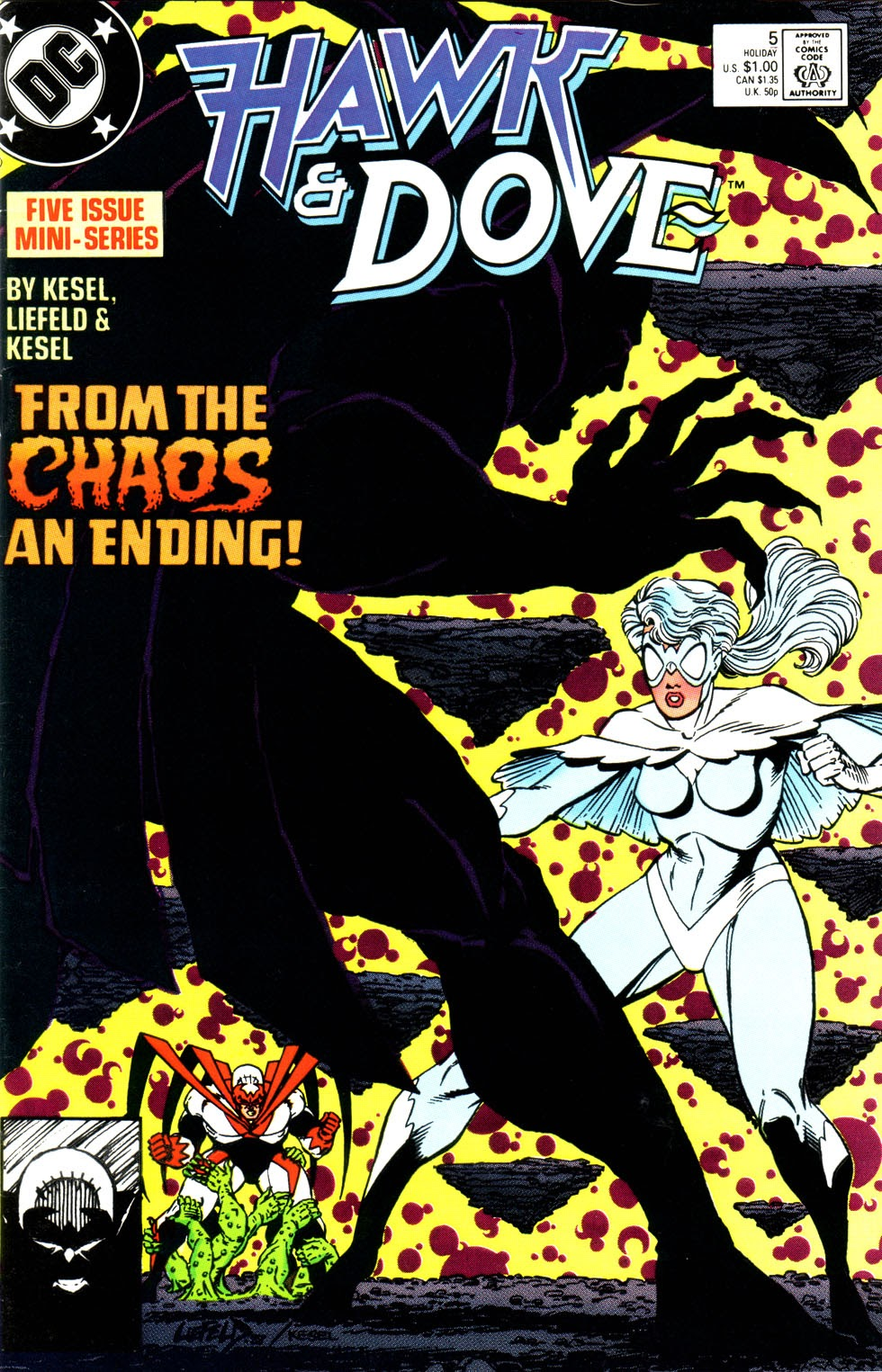 Hawk and Dove (1988) 5 Page 1