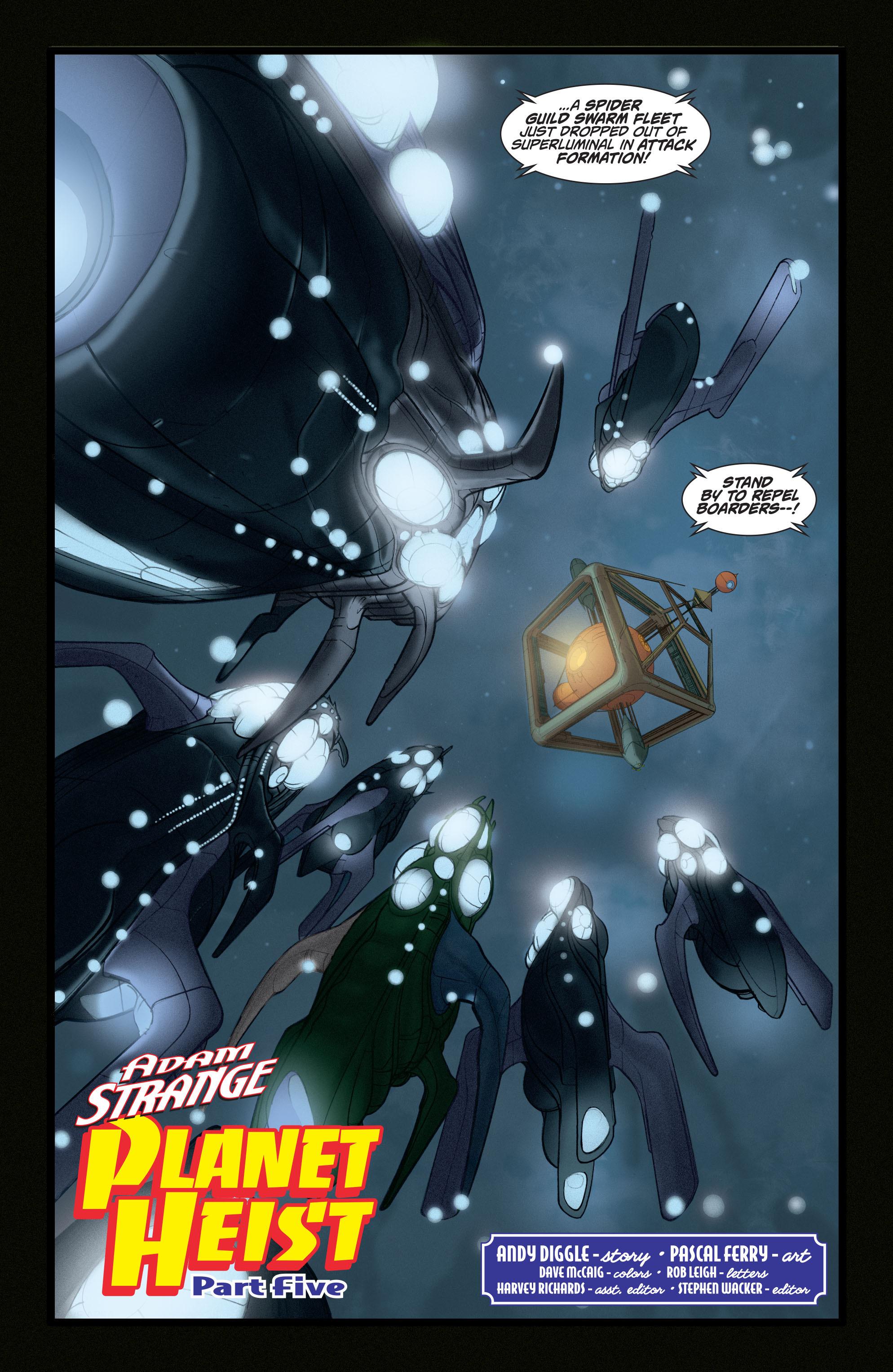 Read online Adam Strange (2004) comic -  Issue #5 - 5