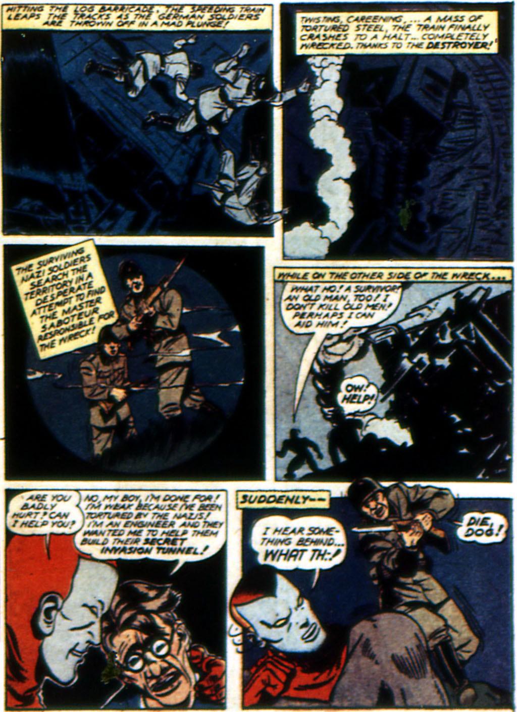Read online All-Winners Comics comic -  Issue #3 - 58