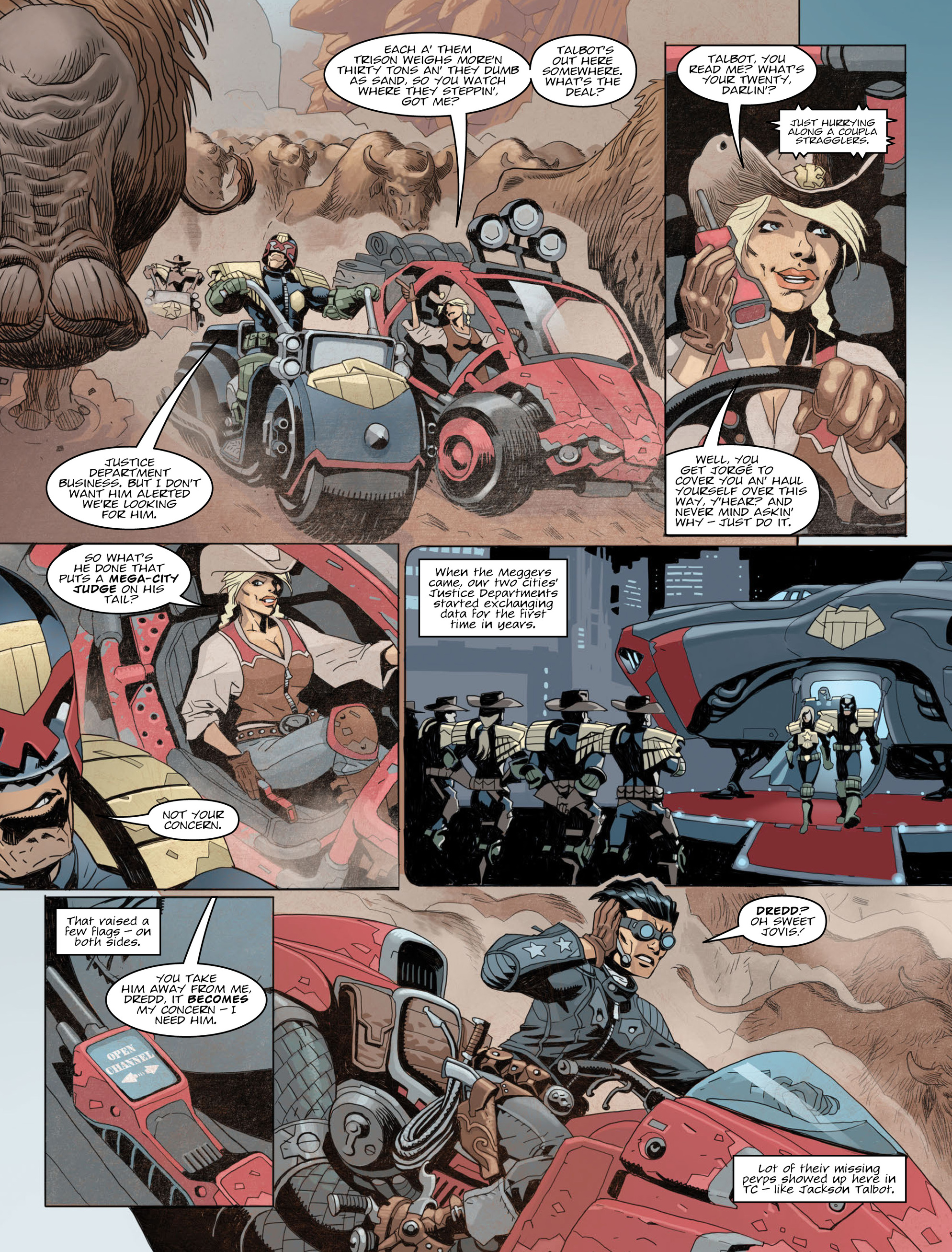 Read online 2000 AD comic -  Issue #2012 - 5