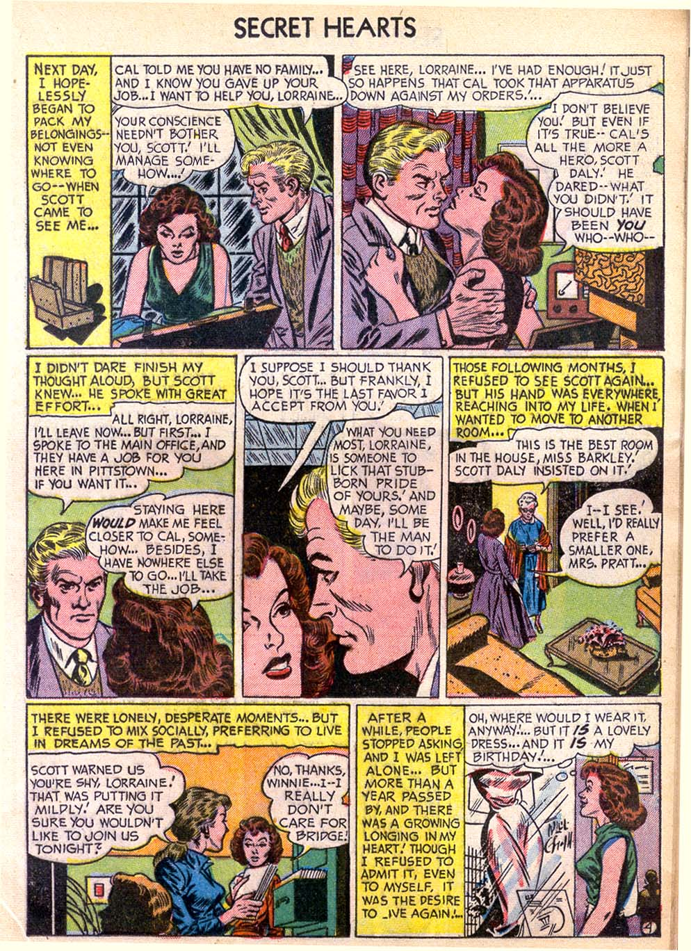 Read online Secret Hearts comic -  Issue #11 - 13