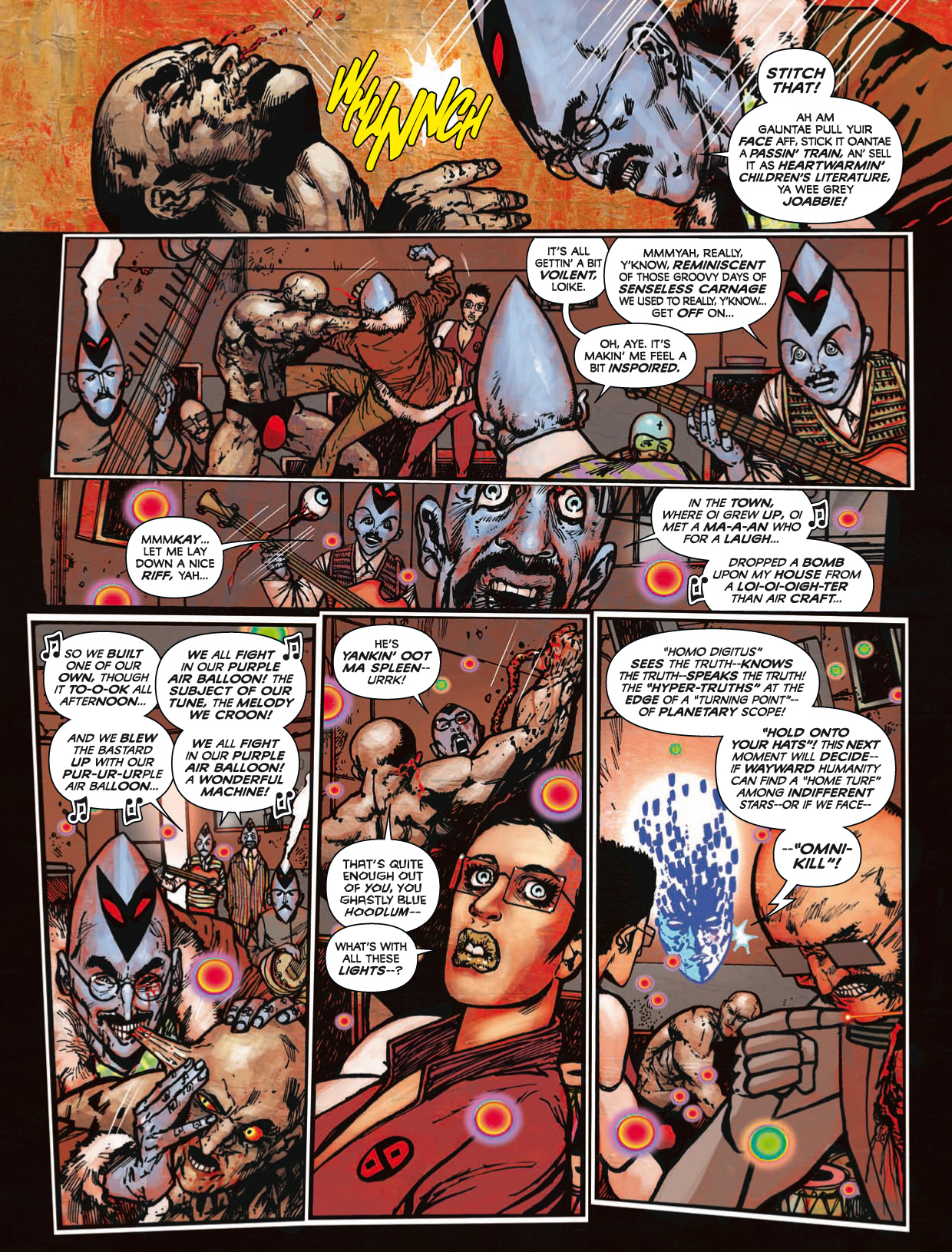 Read online 2000 AD comic -  Issue #1746 - 162