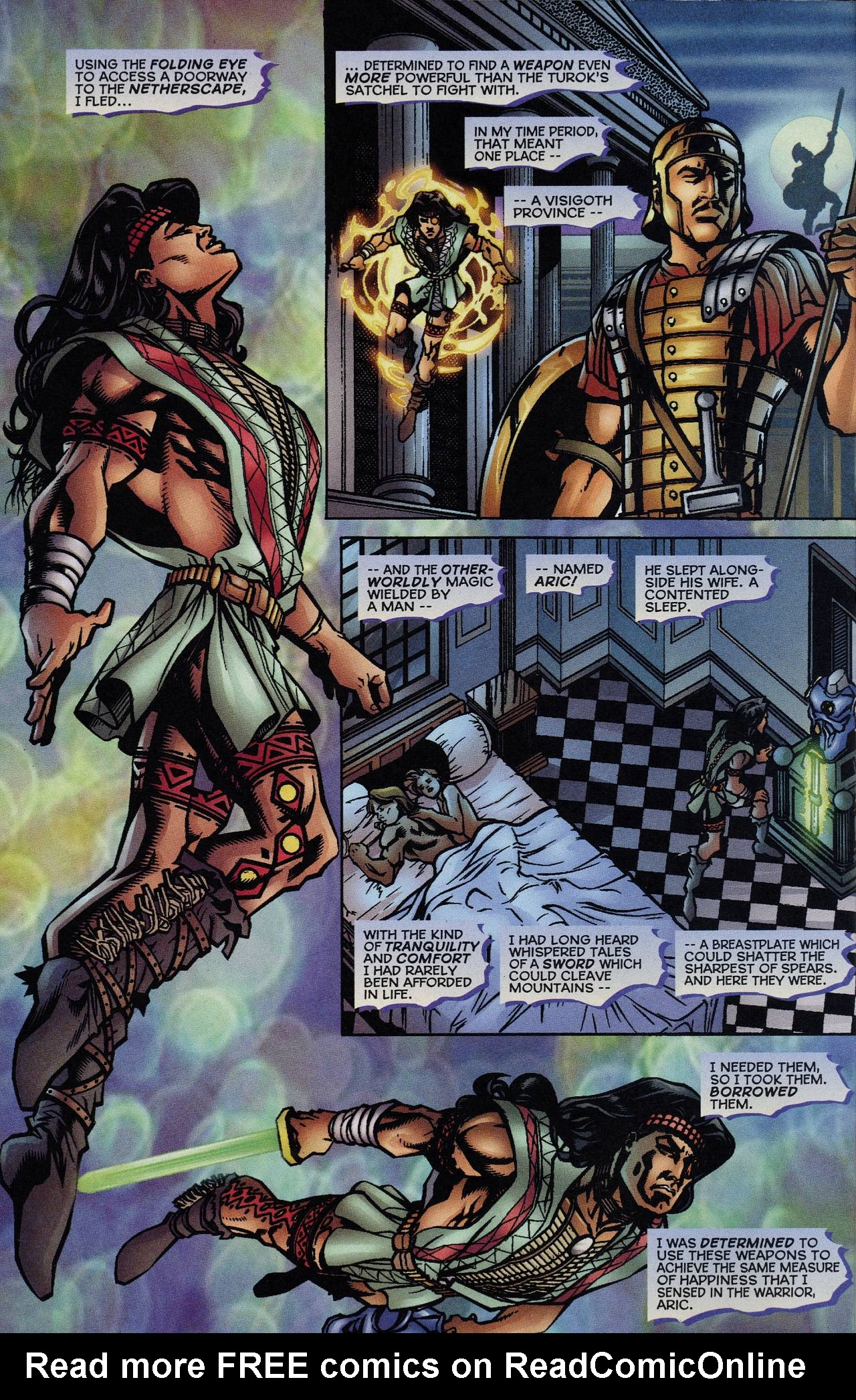 Read online Turok: Tales of the Lost Land comic -  Issue # Full - 8