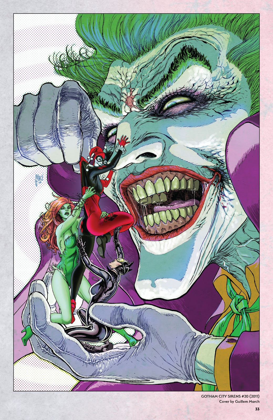 Read online Harley Quinn: A Rogue's Gallery―The Deluxe Cover Art Collection comic -  Issue # TPB (Part 1) - 32