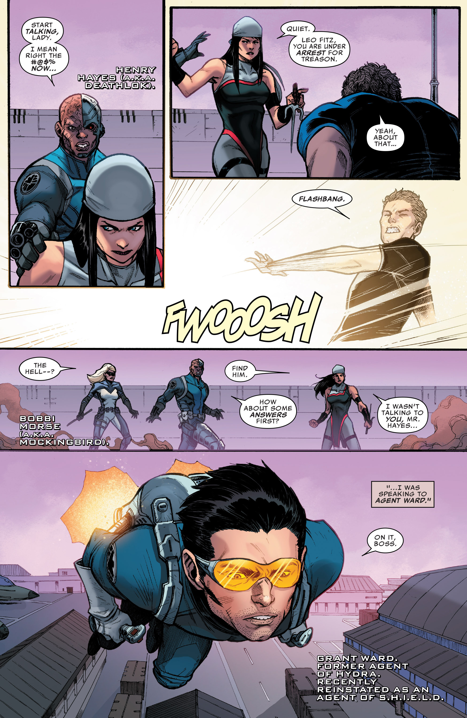 Read online Agents of S.H.I.E.L.D. comic -  Issue #9 - 3