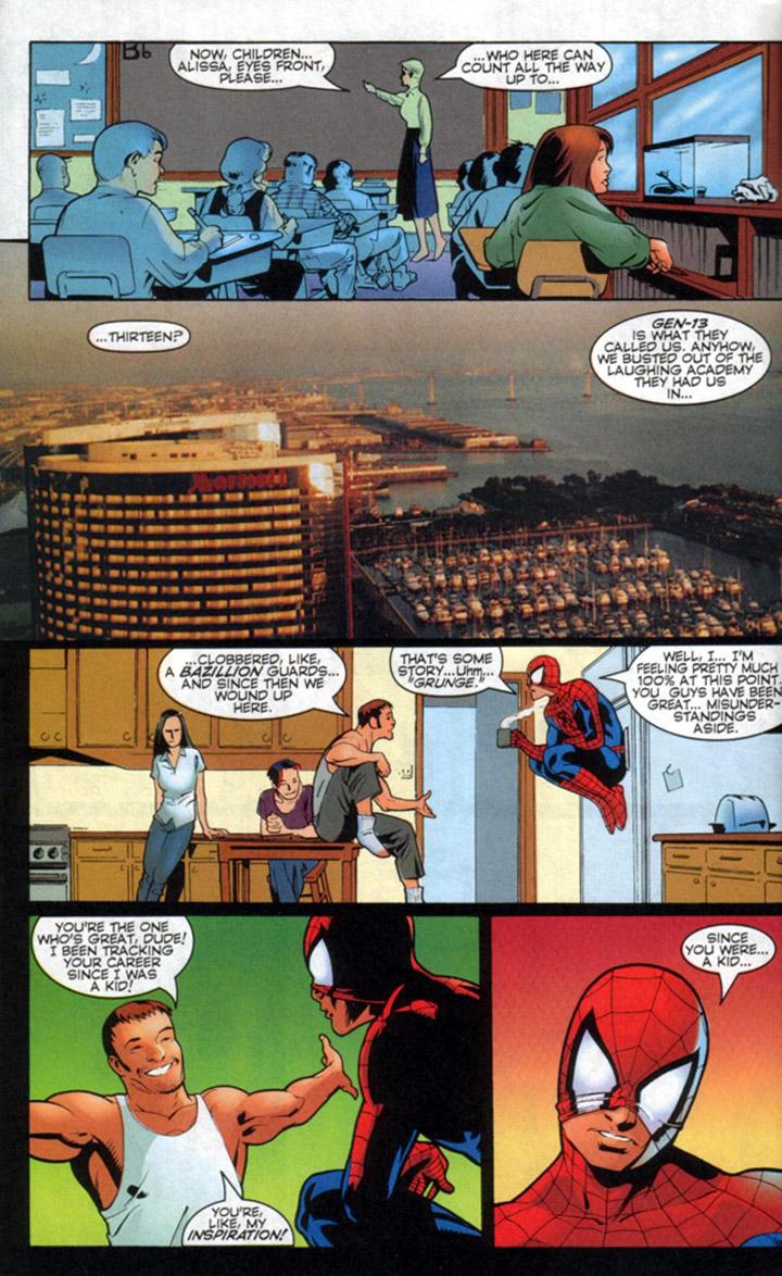 Read online Spider-Man/Gen13 comic -  Issue # Full - 31