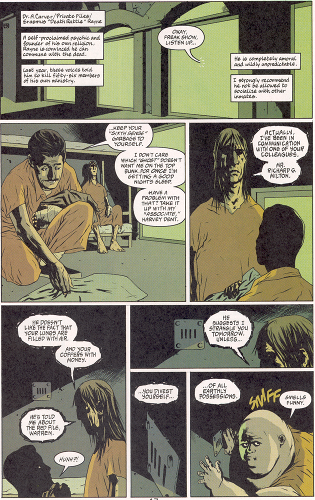 Read online Arkham Asylum: Living Hell comic -  Issue #2 - 18
