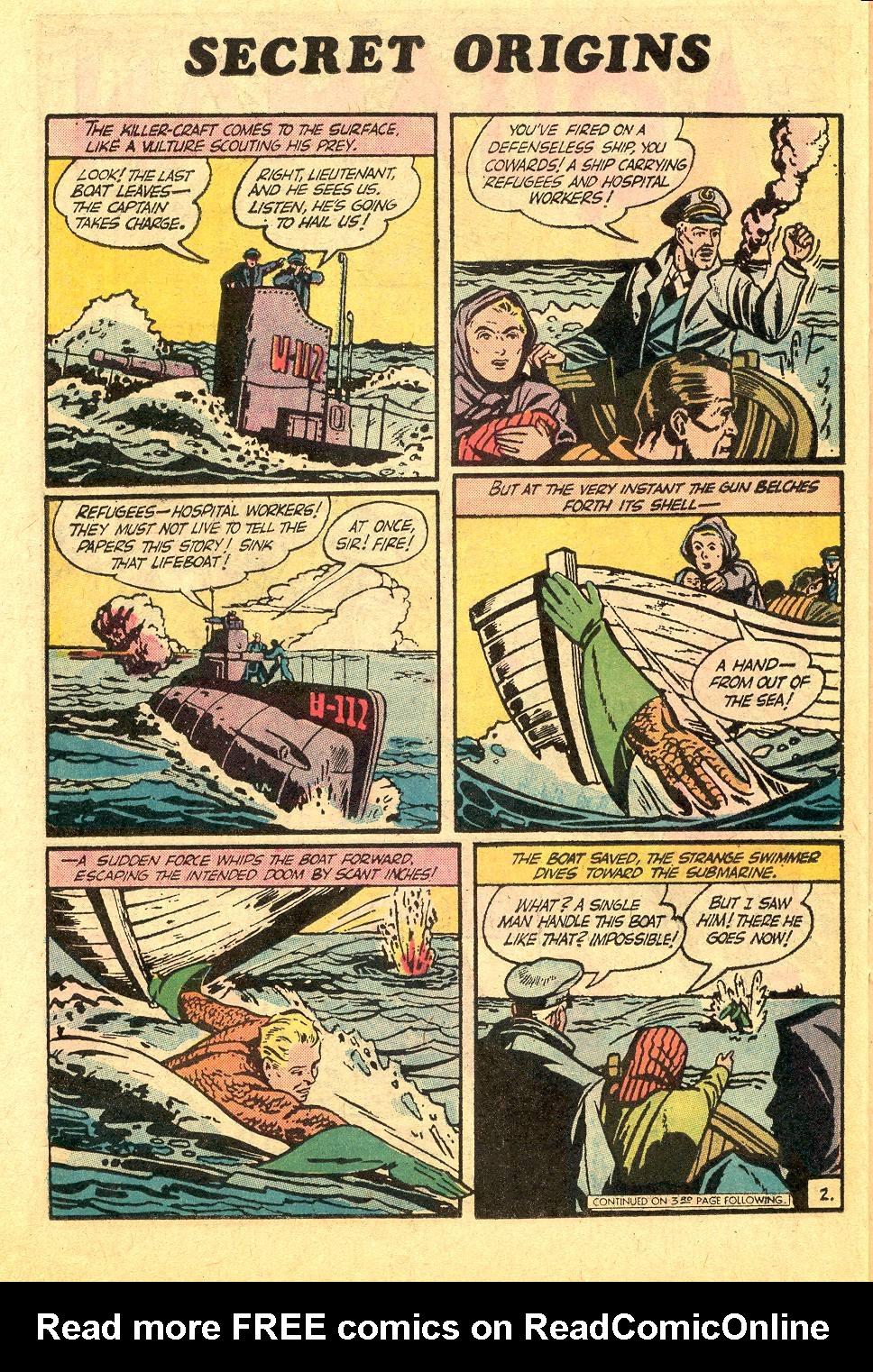 Read online Secret Origins (1973) comic -  Issue #7 - 21