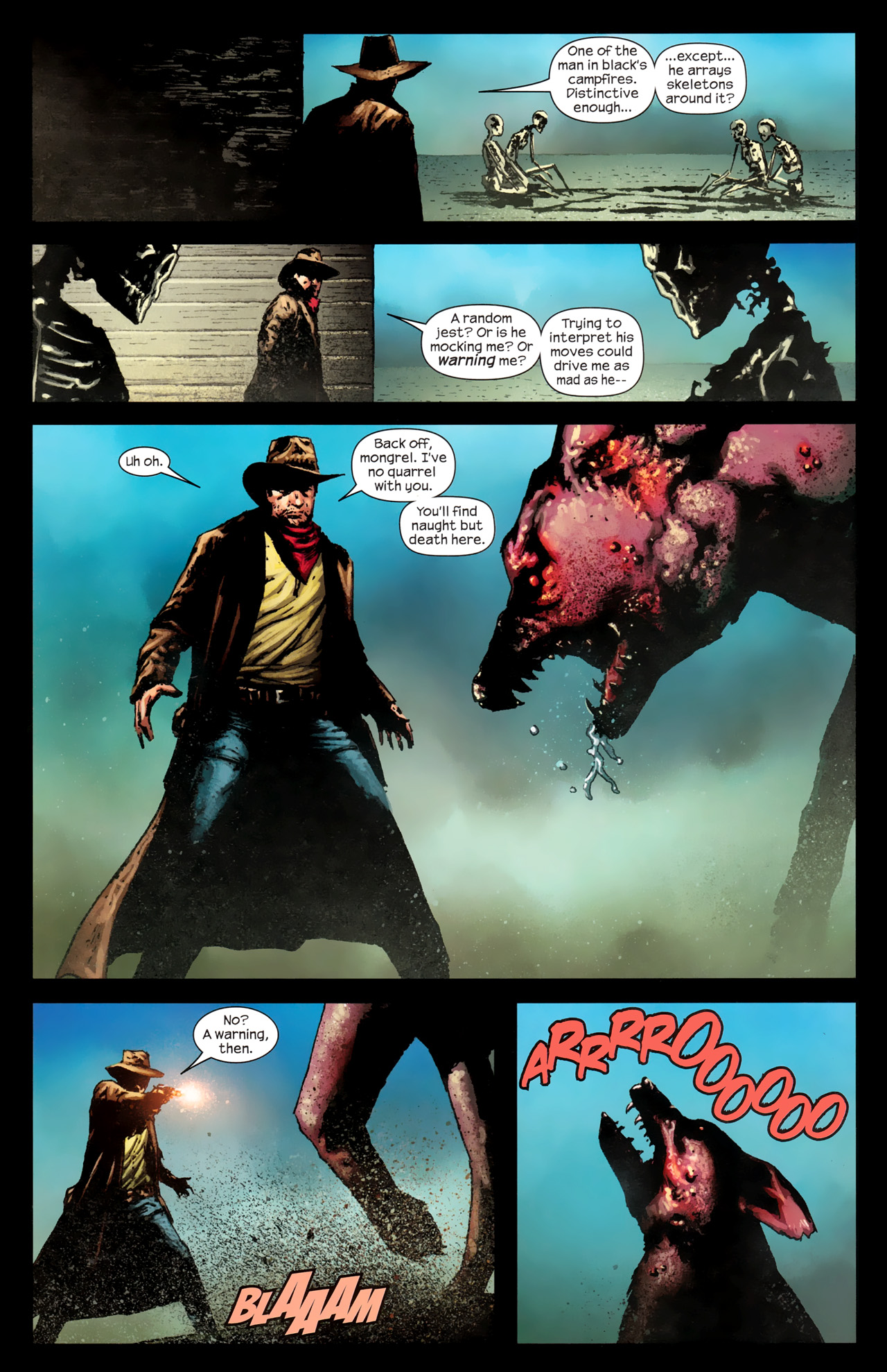 Read online Dark Tower: The Gunslinger - The Way Station comic -  Issue #1 - 12