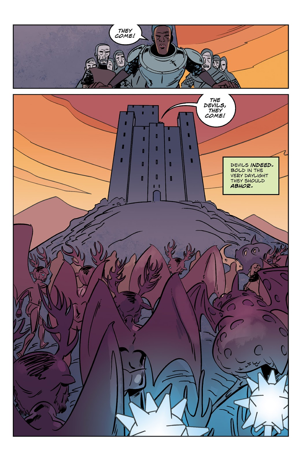 Read online Dark Ages comic -  Issue #2 - 12