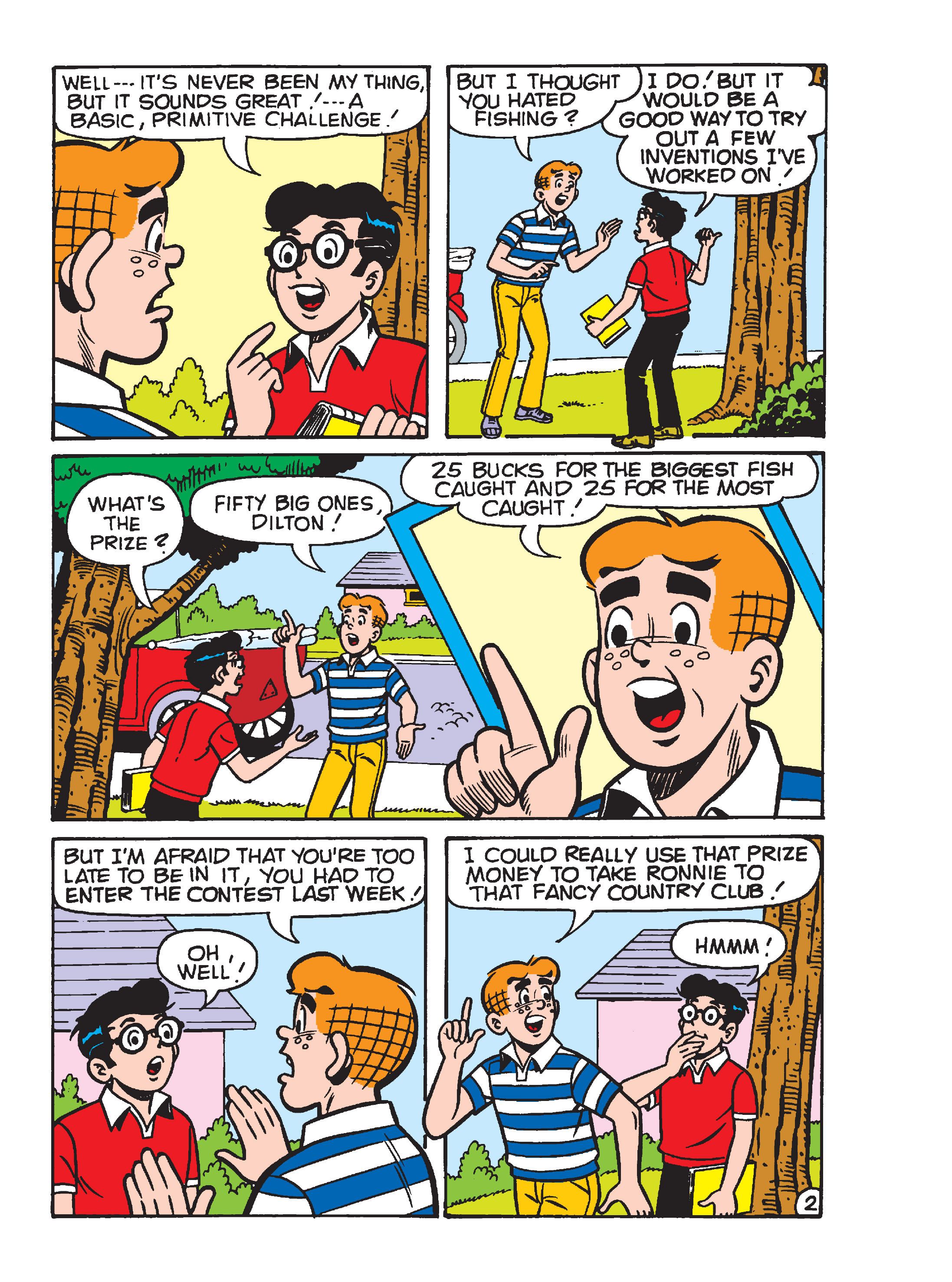 Read online Archie's Funhouse Double Digest comic -  Issue #17 - 86