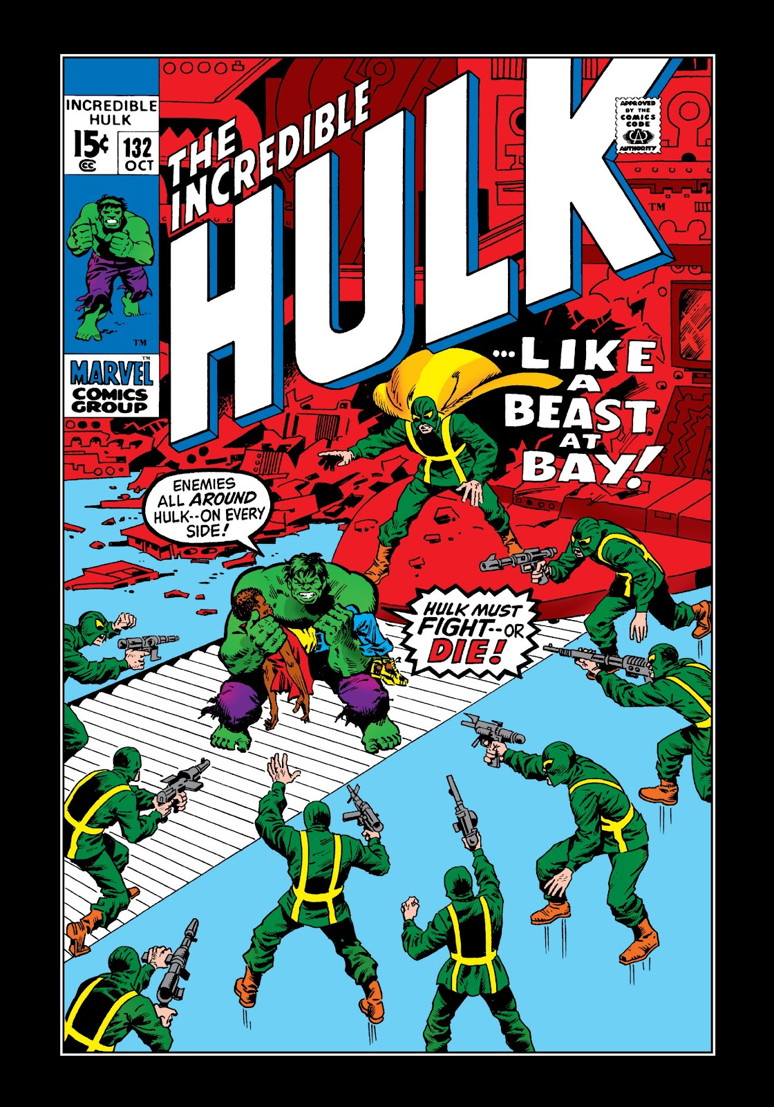 Read online Marvel Masterworks: The Incredible Hulk comic -  Issue # TPB 6 (Part 3) - 14