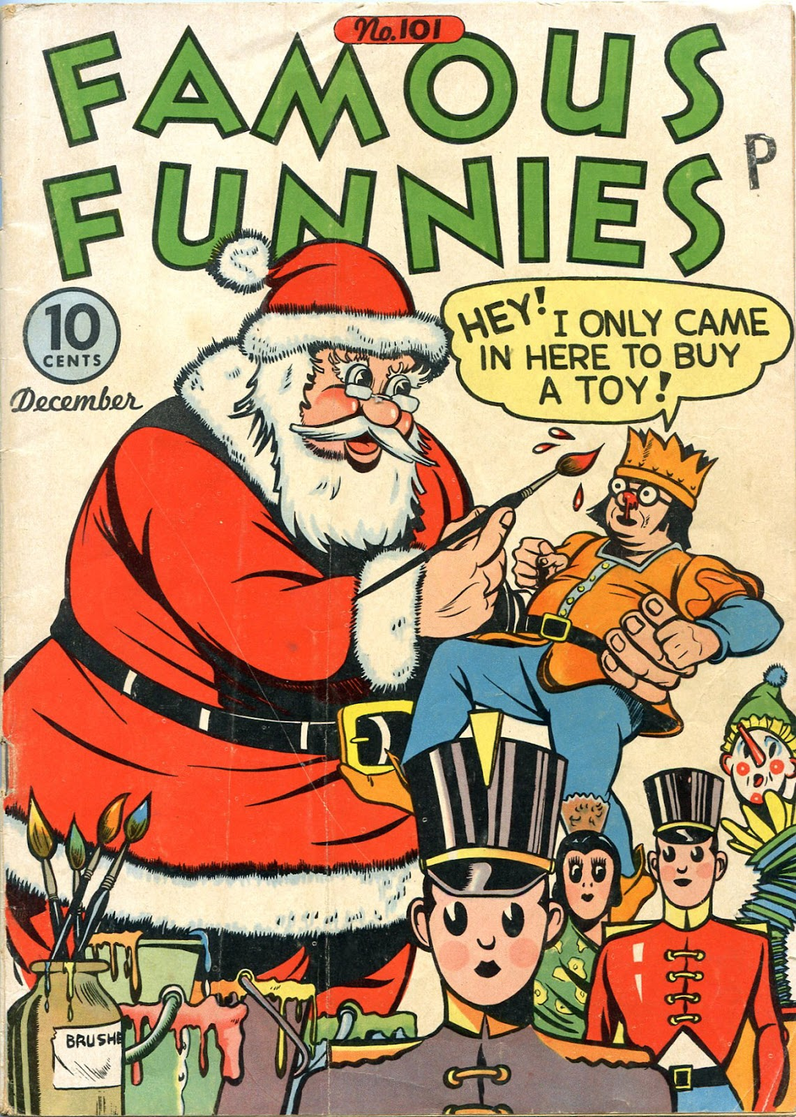Read online Famous Funnies comic -  Issue #101 - 1