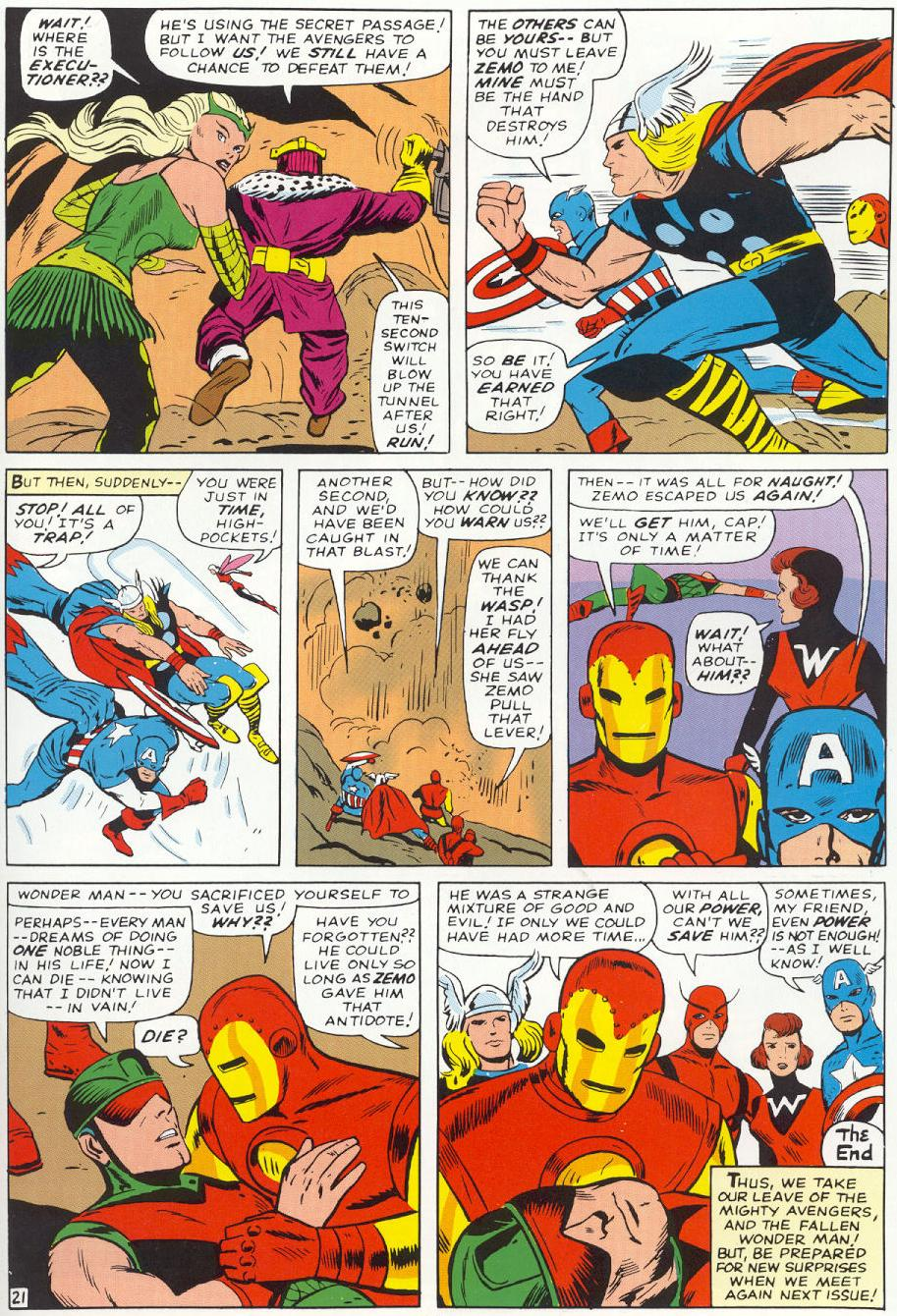 The Avengers (1963) 9 Page 21