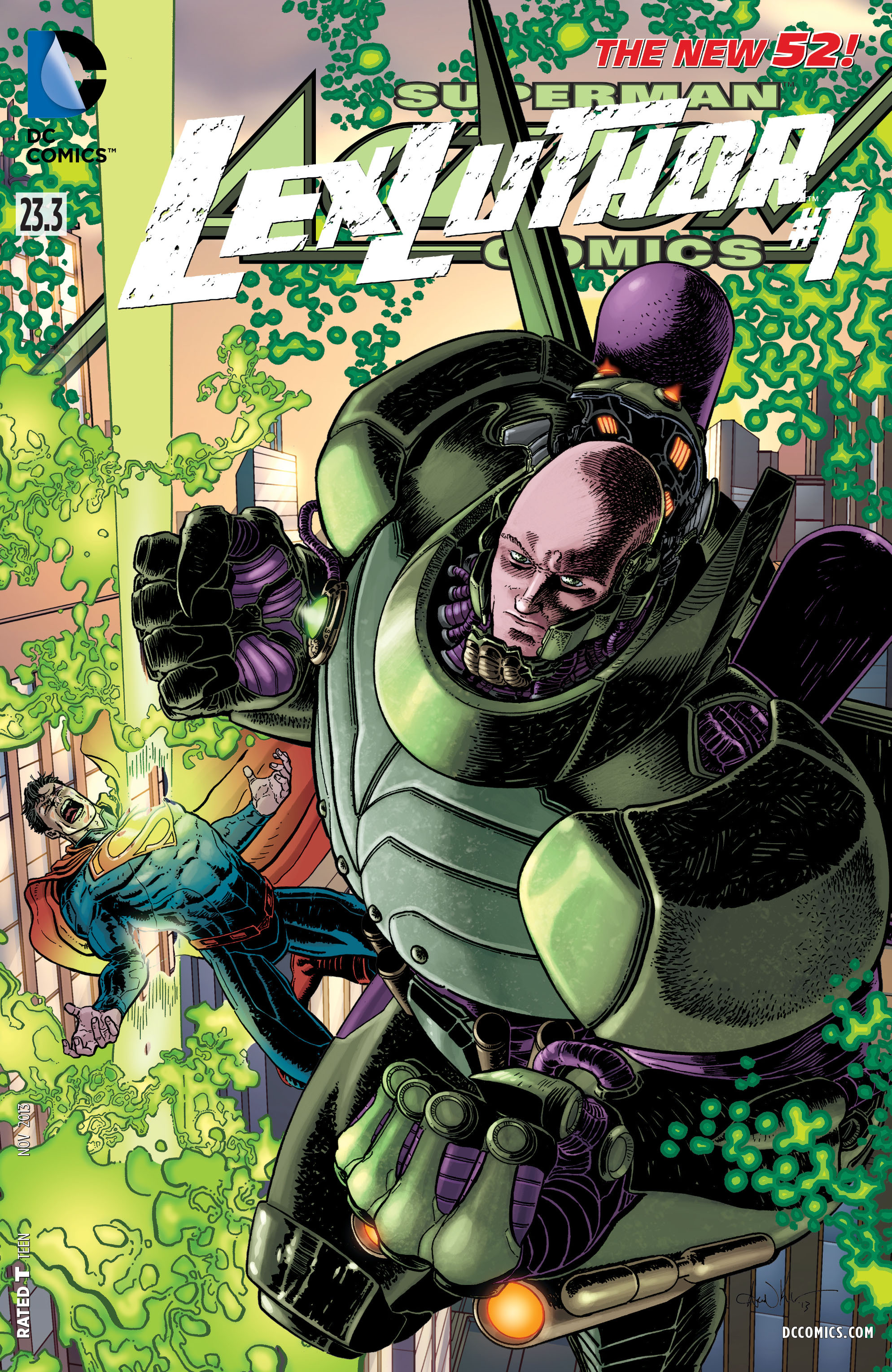 Read online Action Comics (2011) comic -  Issue #23.3 - 1