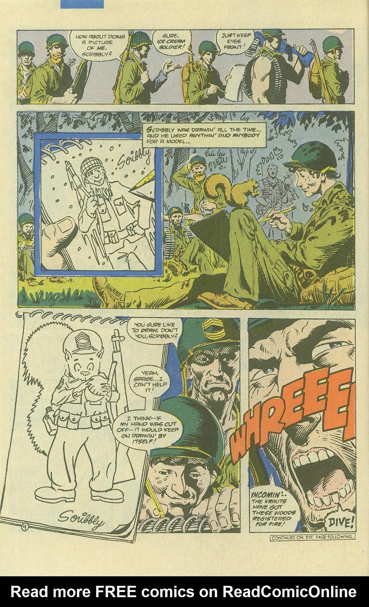 Read online Sgt. Rock comic -  Issue #408 - 5