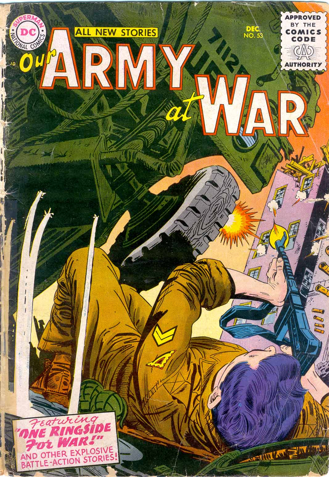 Our Army at War (1952) issue 53 - Page 1