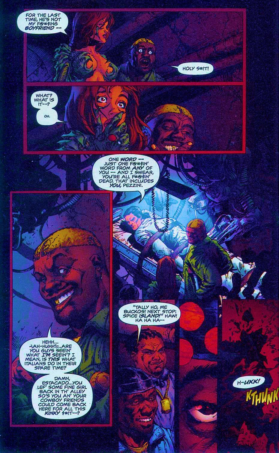 Read online Overkill: Witchblade/Aliens/Darkness/Predator comic -  Issue #2 - 25