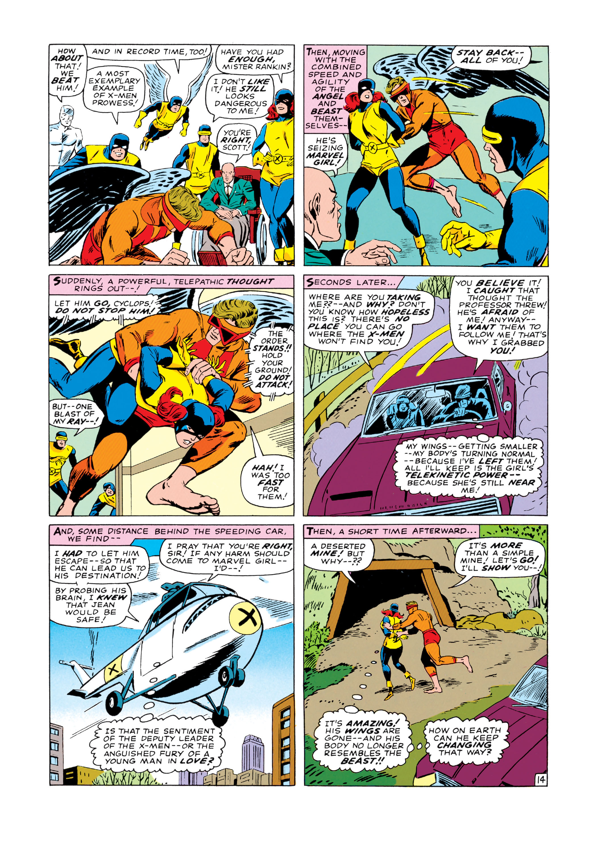 Read online Uncanny X-Men (1963) comic -  Issue #19 - 15