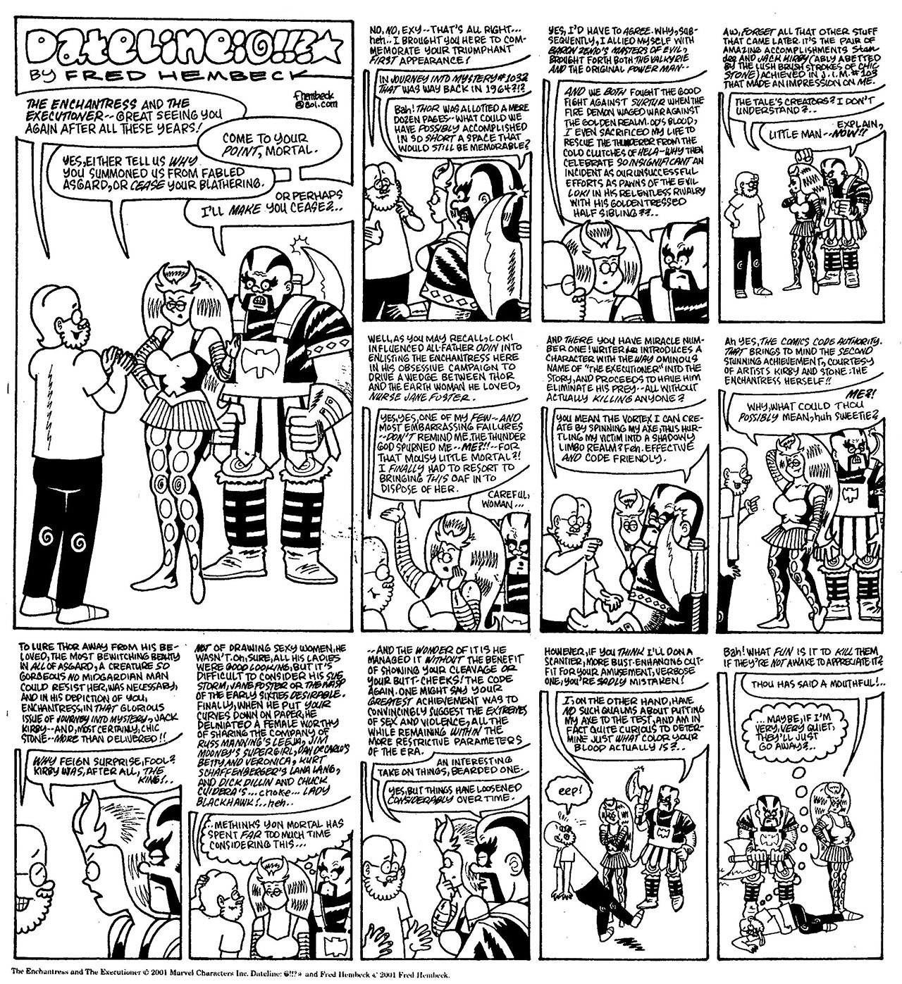 Read online The Nearly Complete Essential Hembeck Archives Omnibus comic -  Issue # TPB (Part 8) - 51