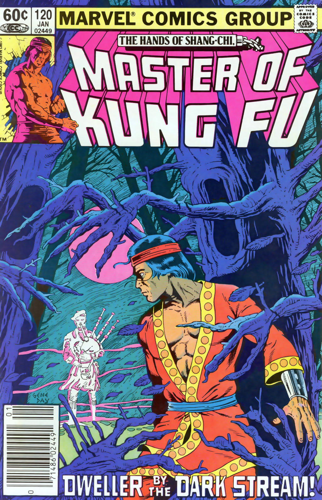 Read online Master of Kung Fu (1974) comic -  Issue #120 - 1