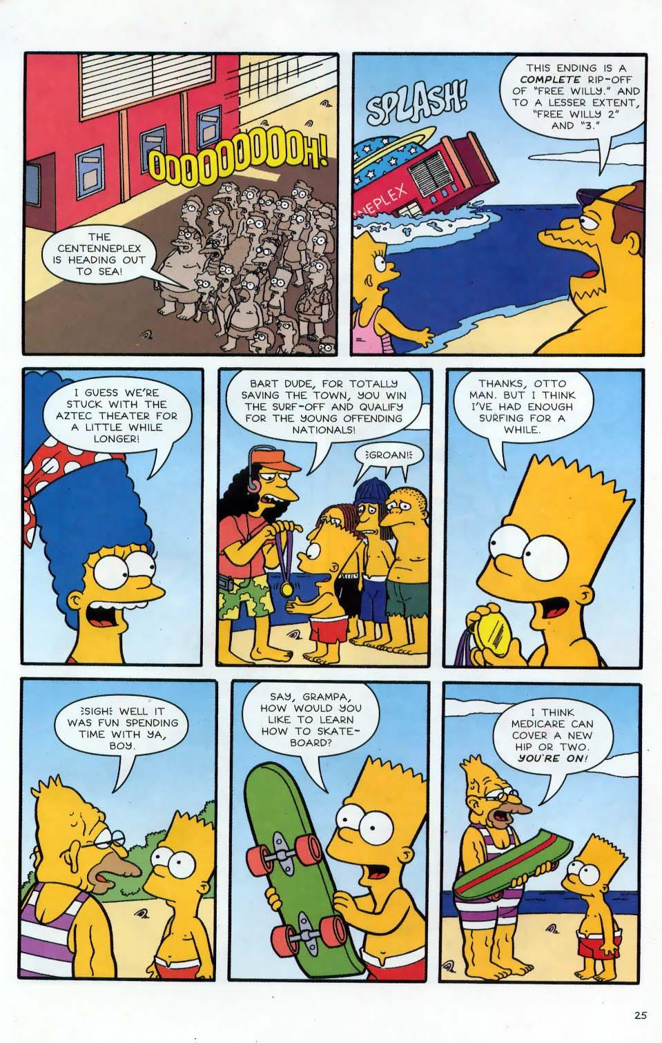 Read online Simpsons Comics comic -  Issue #86 - 26