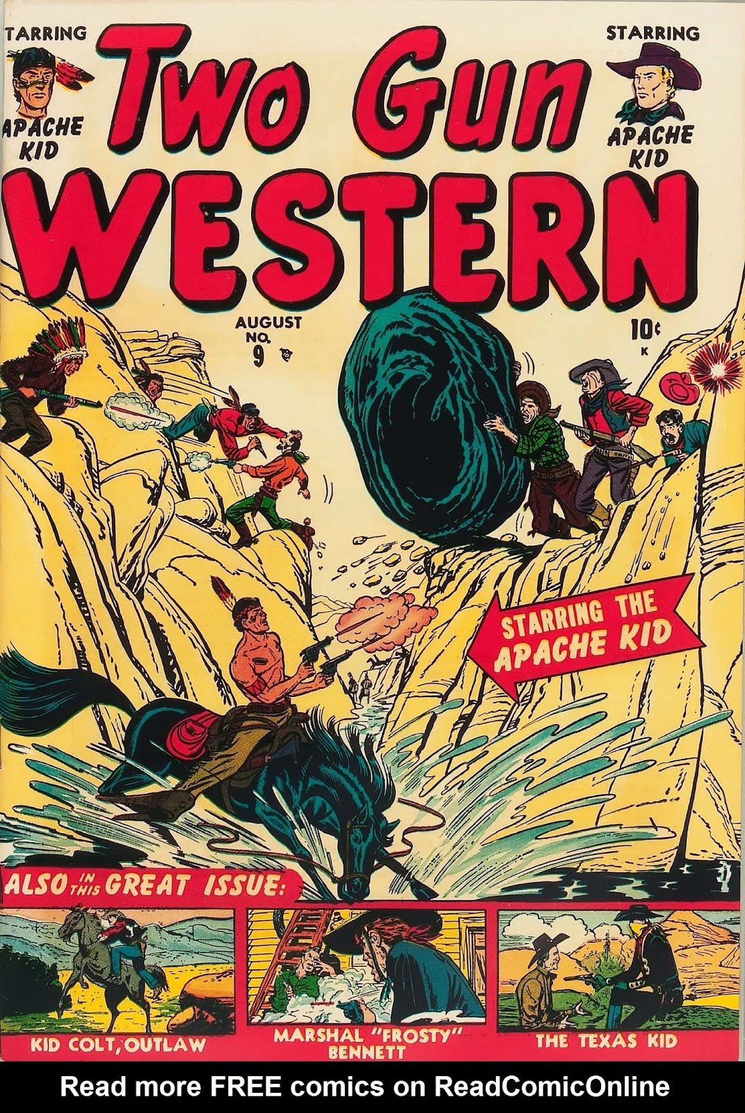 Two Gun Western (1950) issue 9 - Page 1