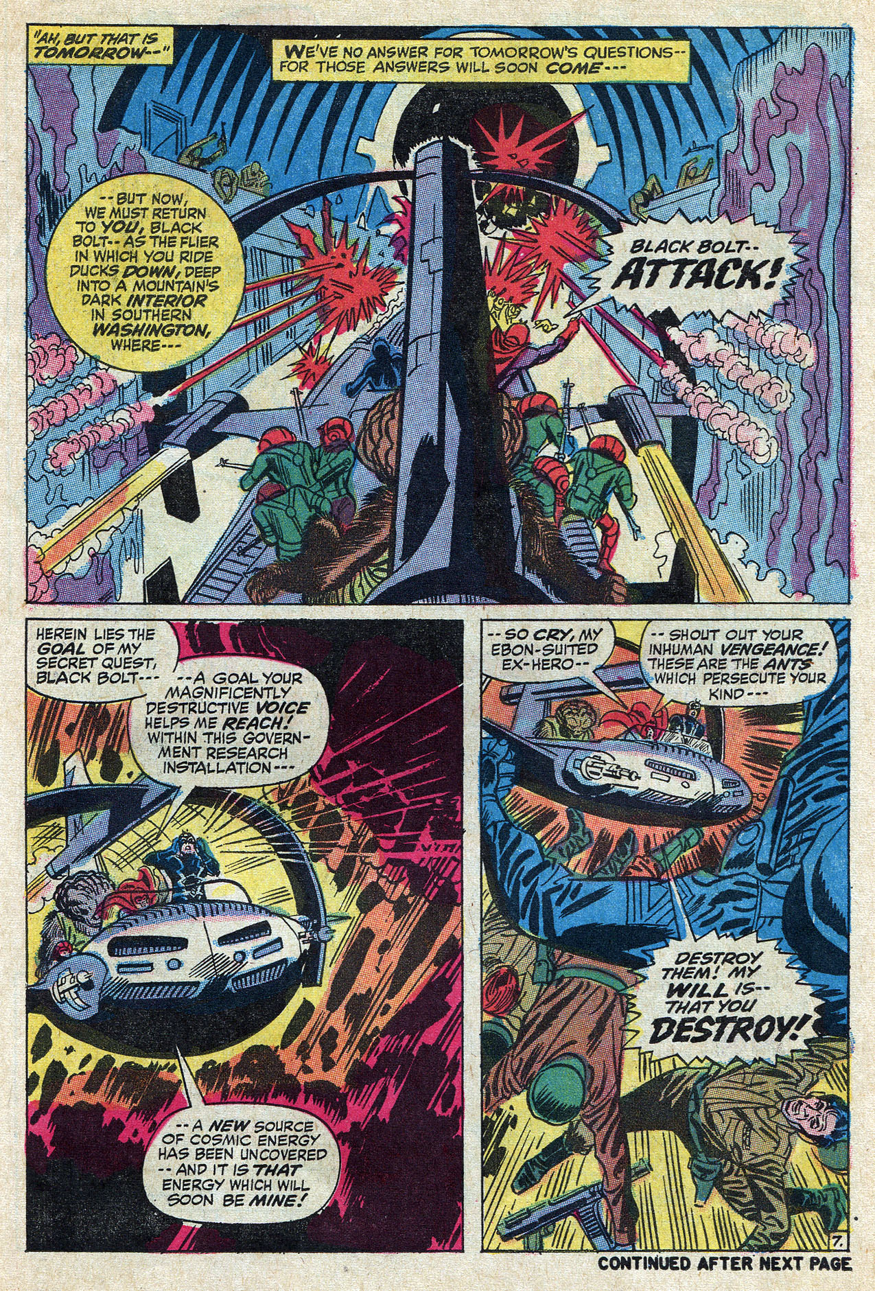 Read online Amazing Adventures (1970) comic -  Issue #10 - 11