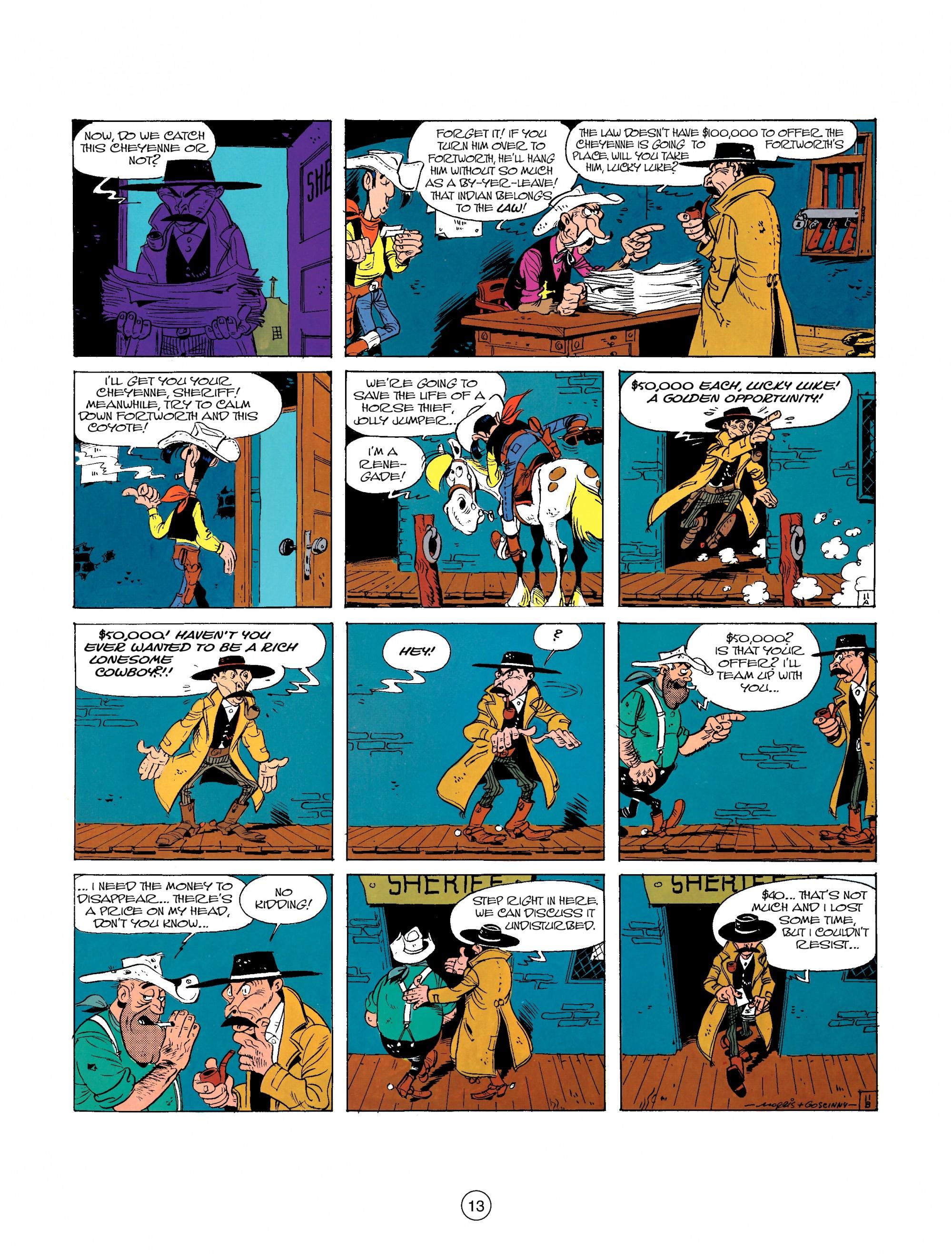 Read online A Lucky Luke Adventure comic -  Issue #26 - 13