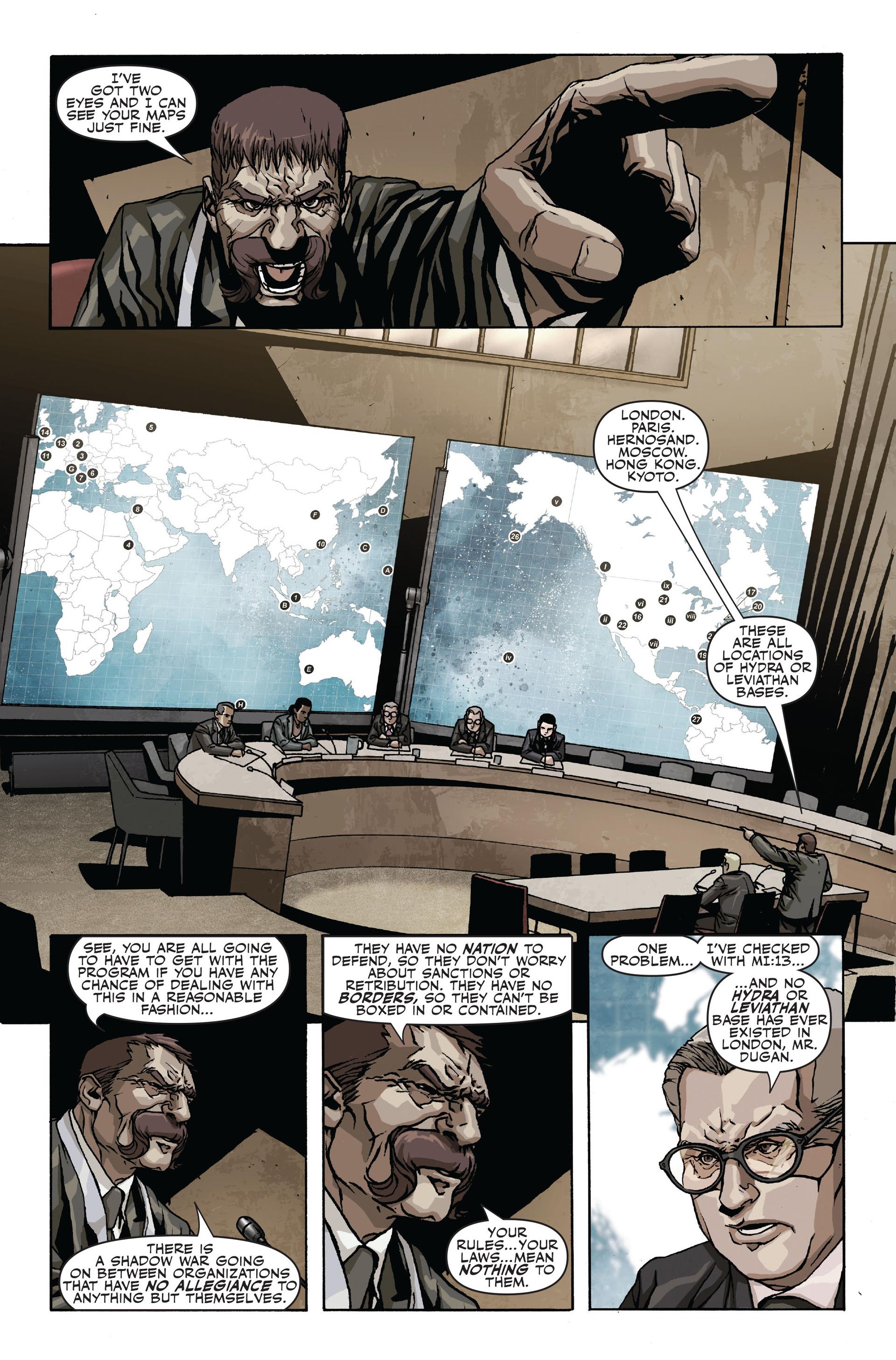 Read online Secret Warriors comic -  Issue #19 - 17
