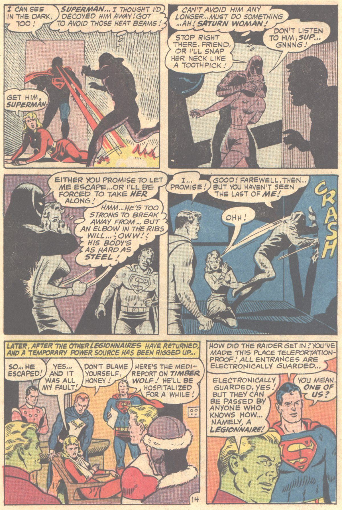 Read online Adventure Comics (1938) comic -  Issue #354 - 20