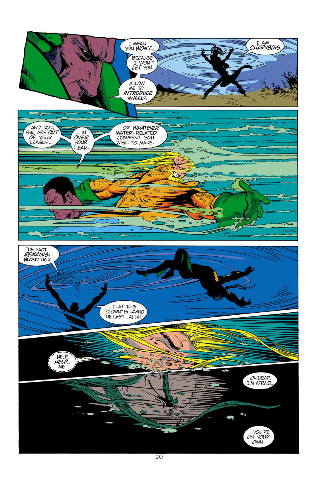 Read online Aquaman (1994) comic -  Issue #1 - 21