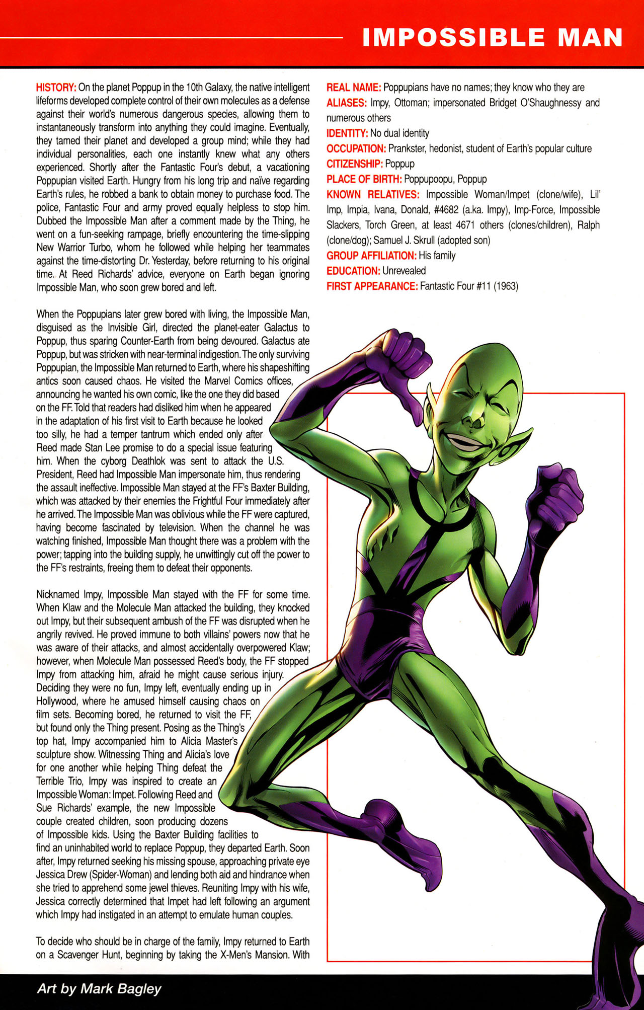 Read online All-New Official Handbook of the Marvel Universe A to Z: Update comic -  Issue #1 - 24