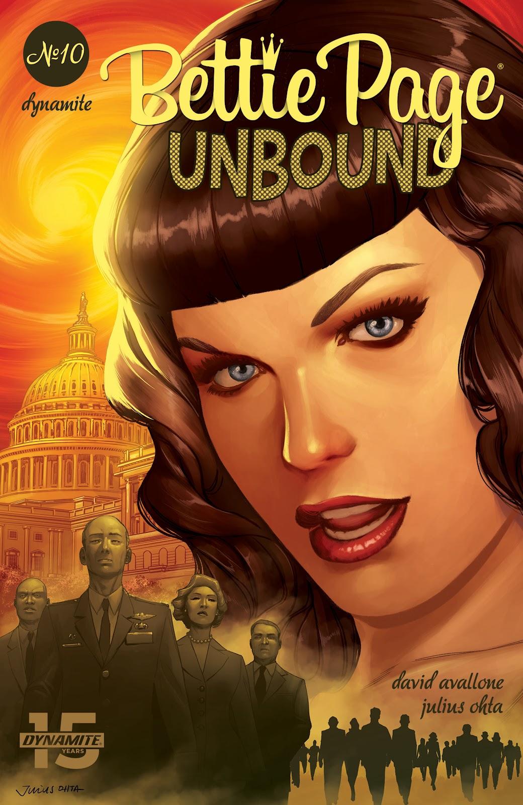 Read online Bettie Page: Unbound comic -  Issue #10 - 4