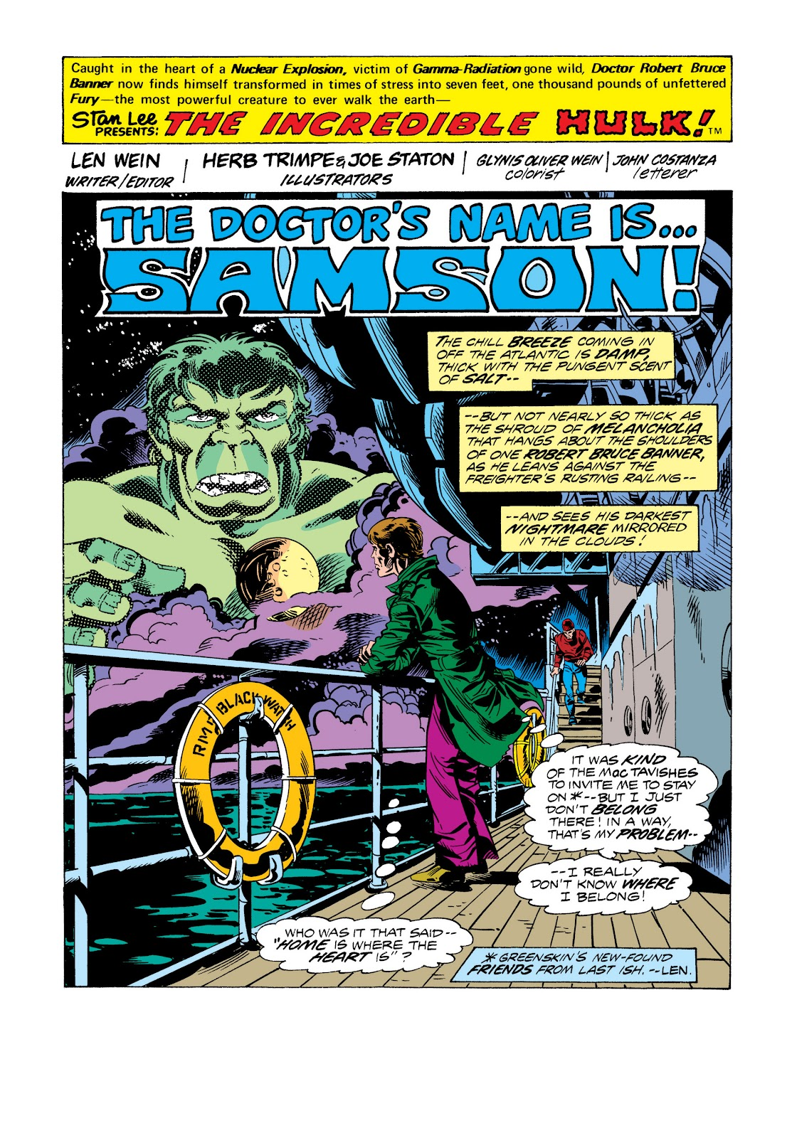 Read online Marvel Masterworks: The Incredible Hulk comic -  Issue # TPB 11 (Part 2) - 78